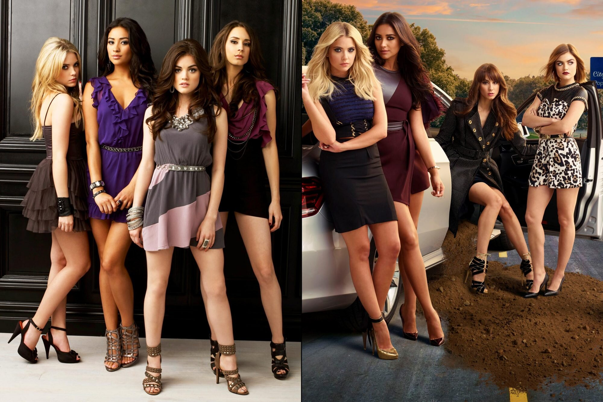Pretty Little Liars See How The Characters Changed Over 7 Seasons Ew Com
