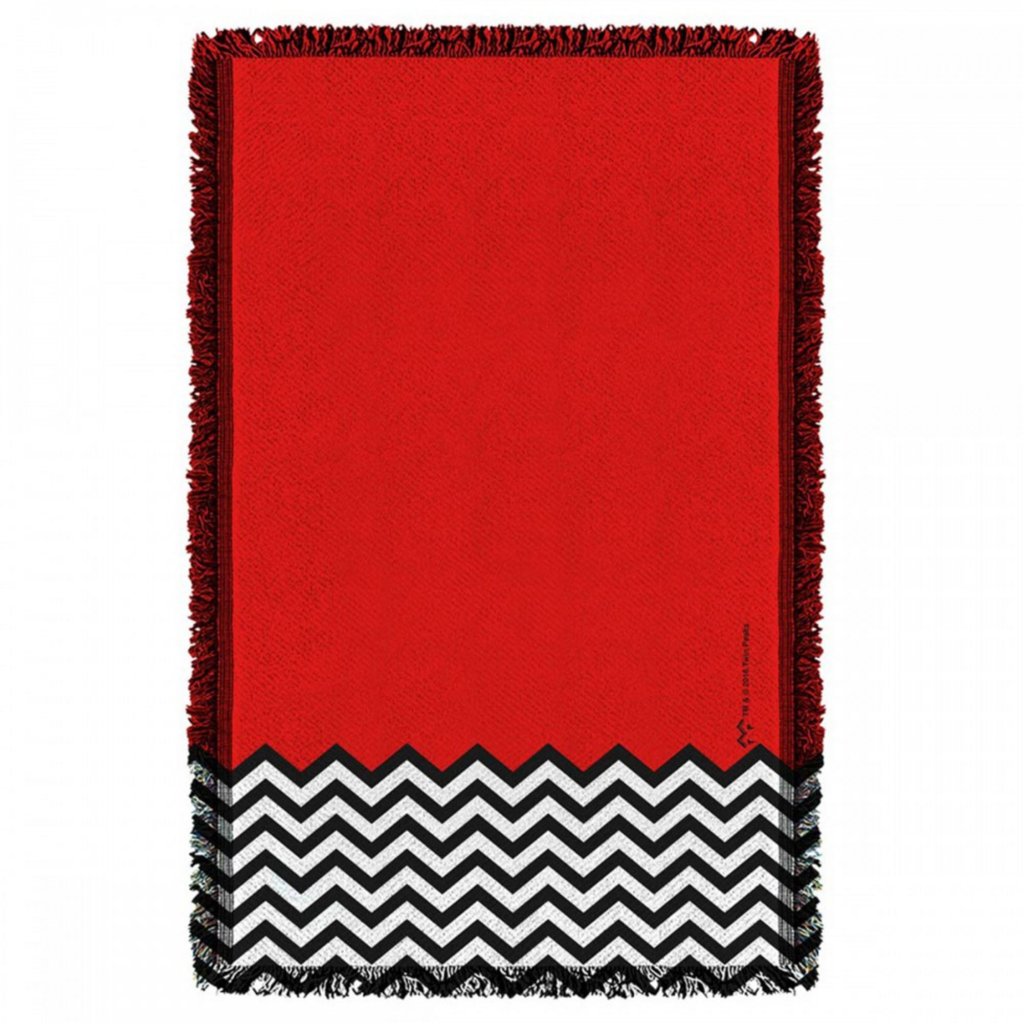 Red-Room-Woven-Throw-Rug