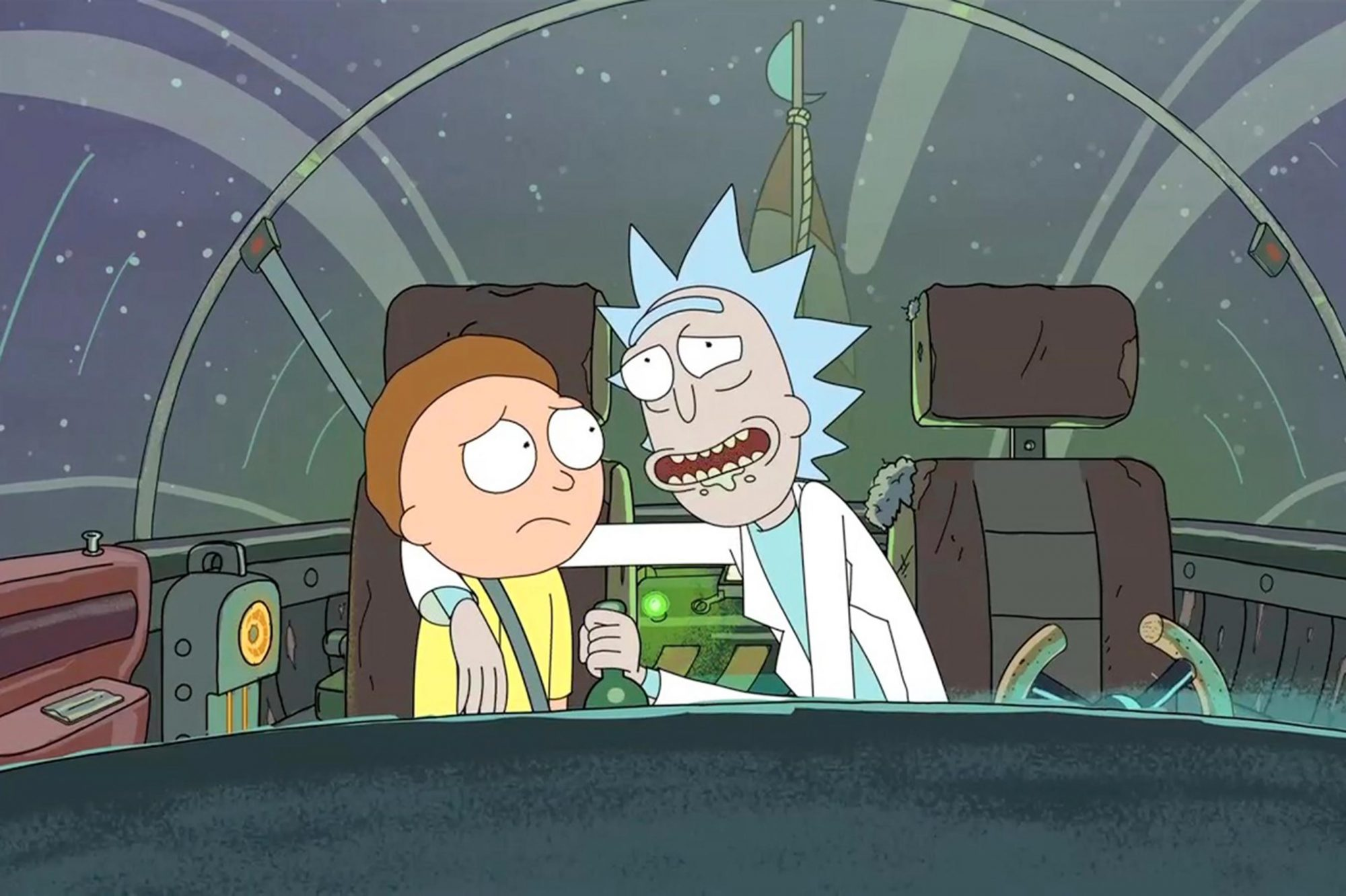 Rick and Morty CR: Adult Swim