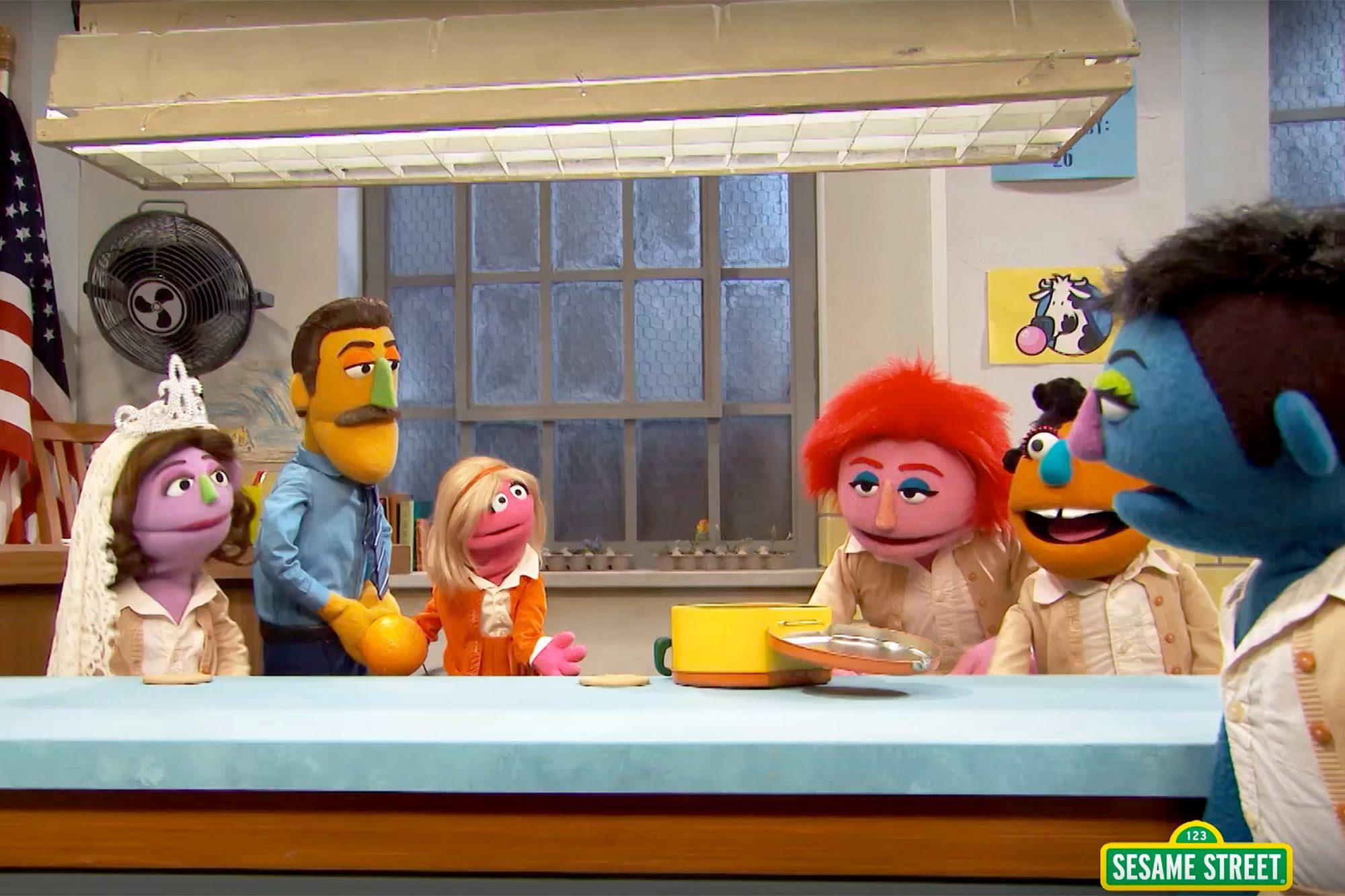 """Orange is the New Snack"" - Sesame Street spoof"