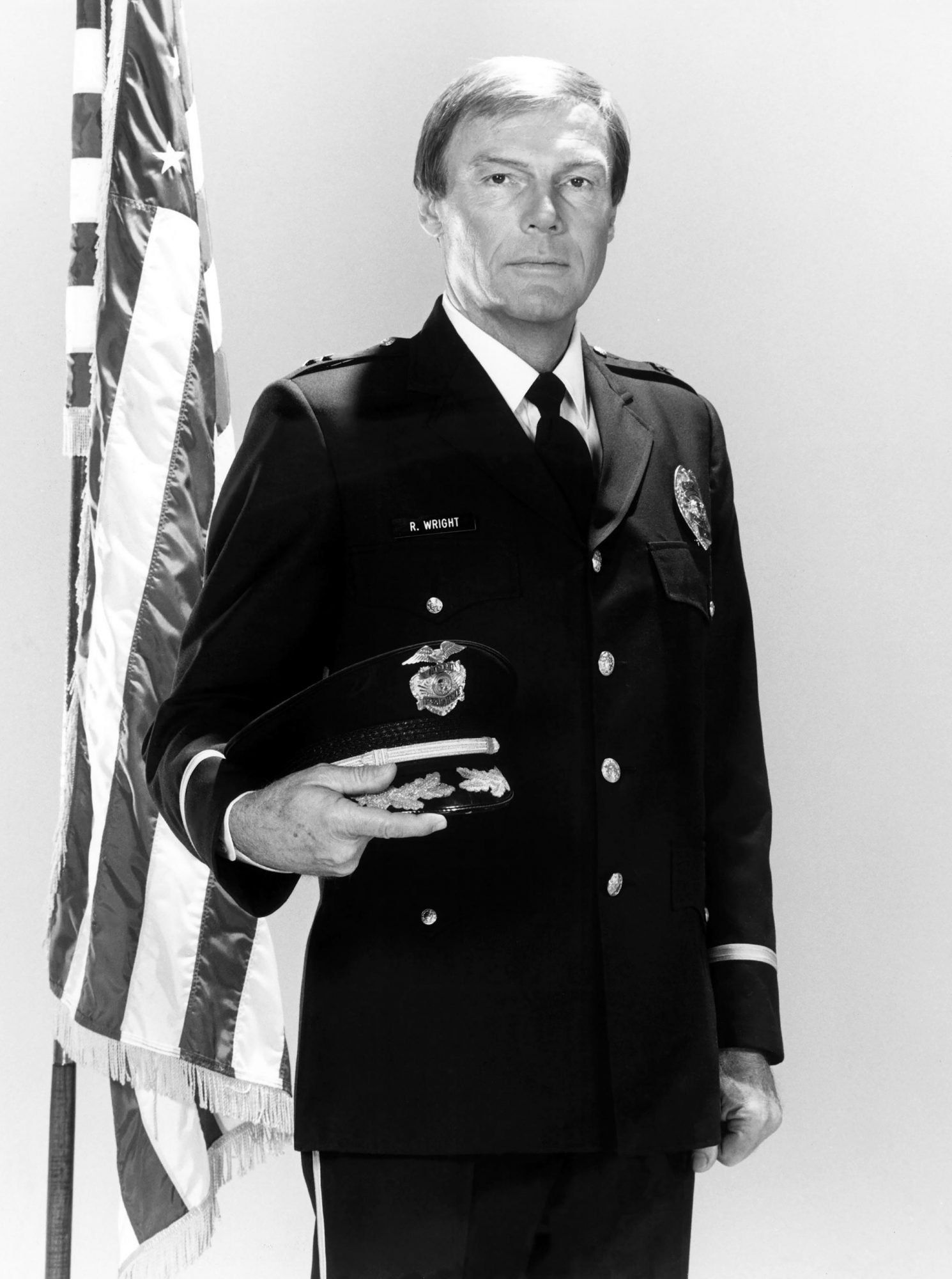 THE LAST PRECINCT, Adam West, 1986, © Stephen J. Cannell Prod. / Courtesy: Everett Collection