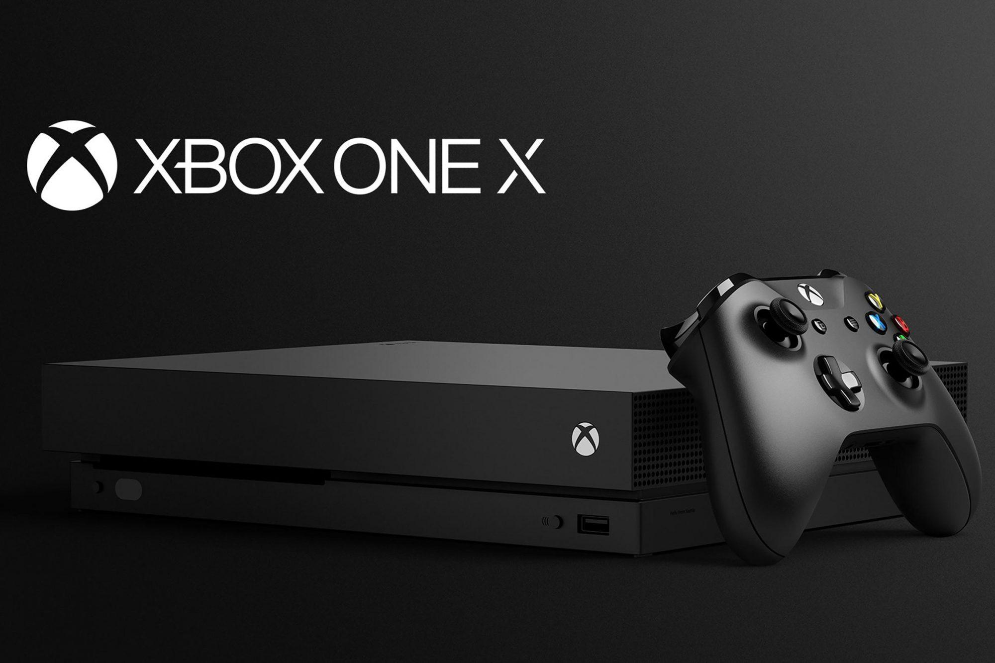 Xbox One X CR: Microsoft