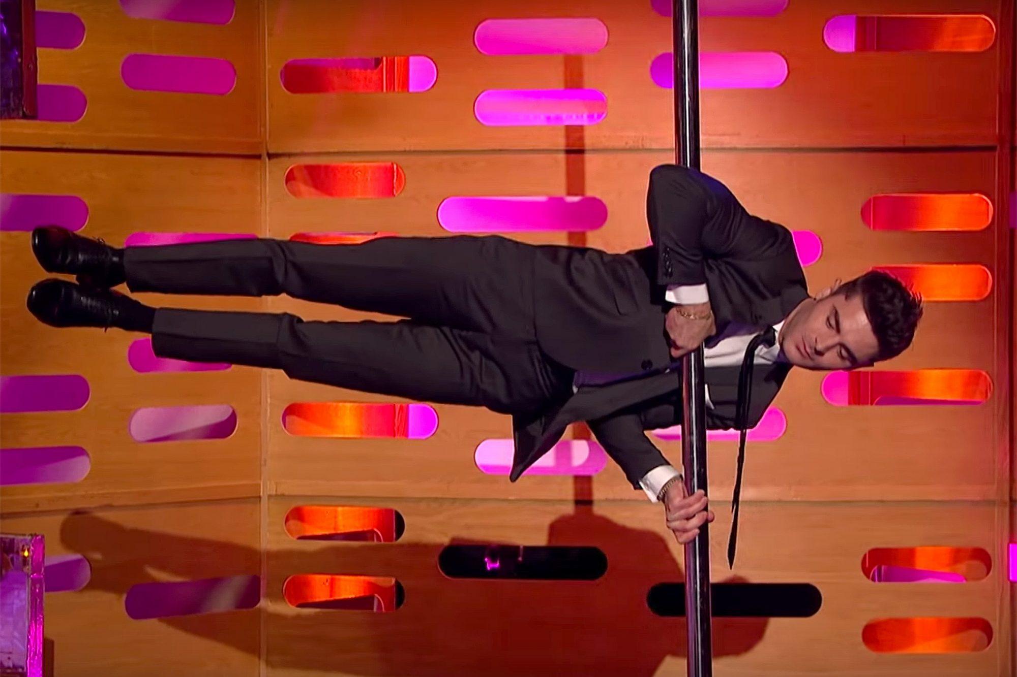 Zac Efron Pole Dances