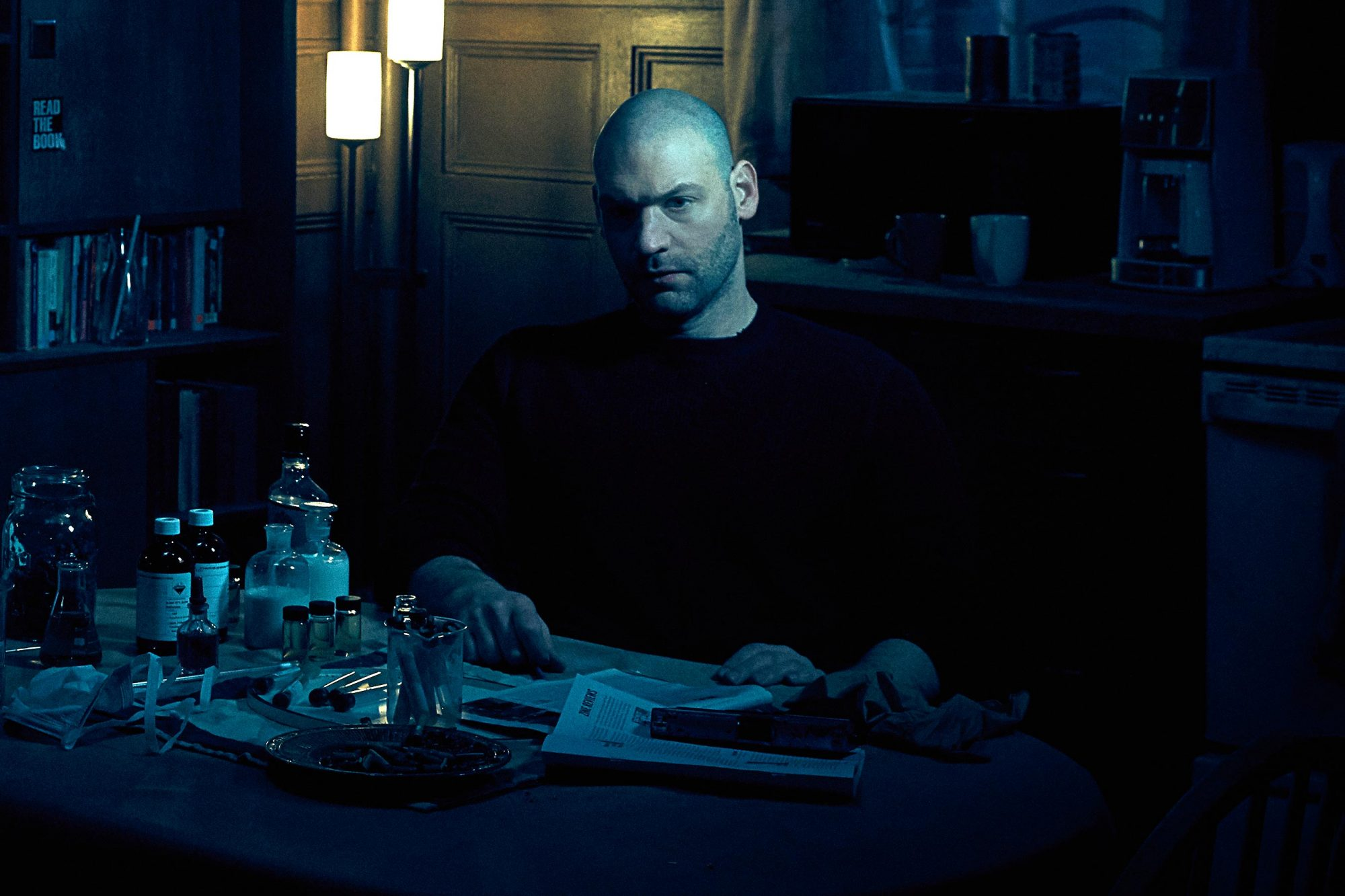 THE STRAIN - Pictured: Corey Stoll as Ephraim Goodweather. CR: James Minchin/FX