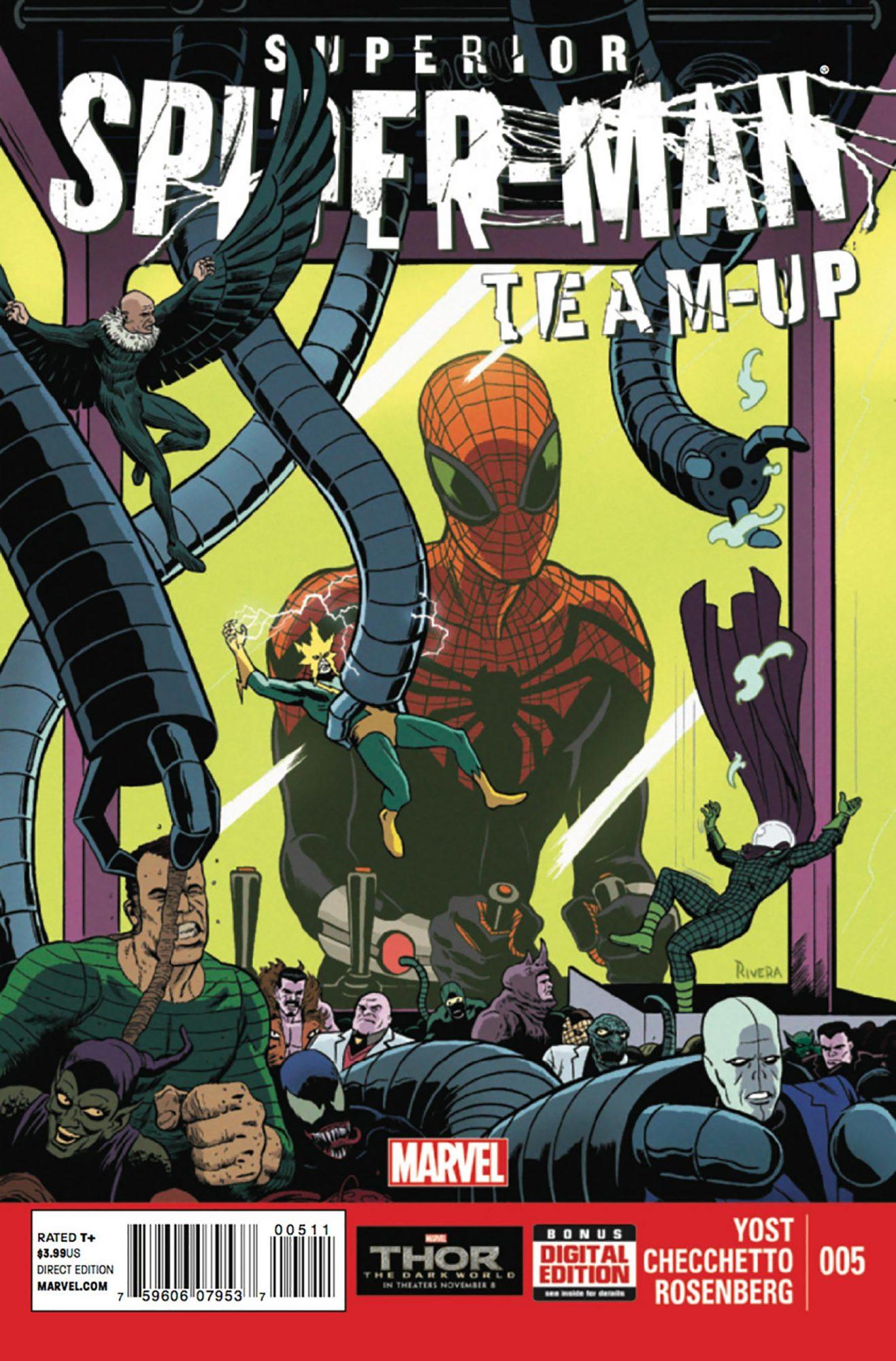 Superior Spider-Man Team-Up #5Artist: Paolo Rivera, 2013