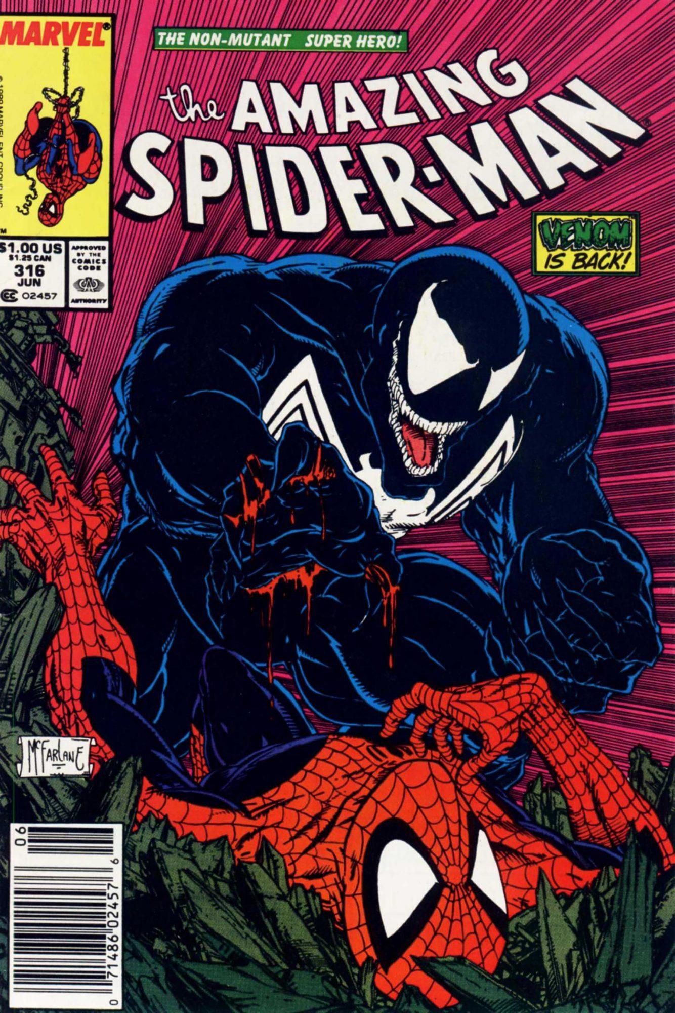 Amazing Spider-Man #316Artist: Todd McFarlane, 1989