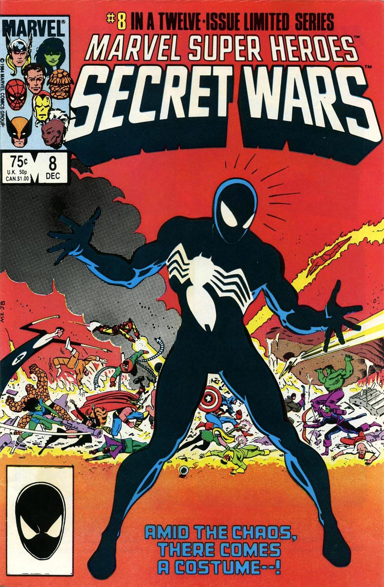 Marvel Super-Heroes: Secret Wars #8Mike Zeck, 1984