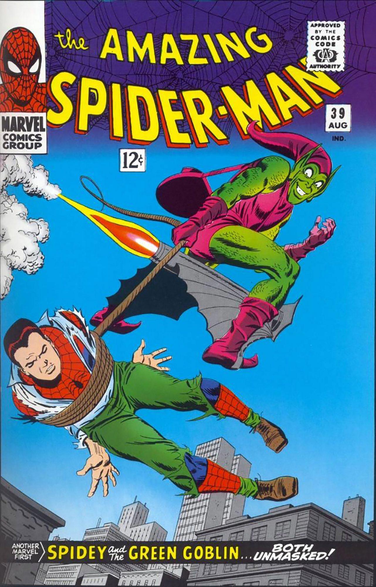 Amazing Spider-Man #39Artist: Steve Ditko, 1966