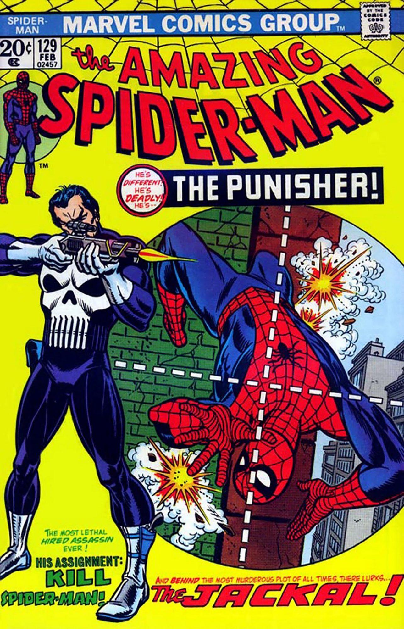 Amazing Spider-Man #129Artist: Gil Kane, 1974