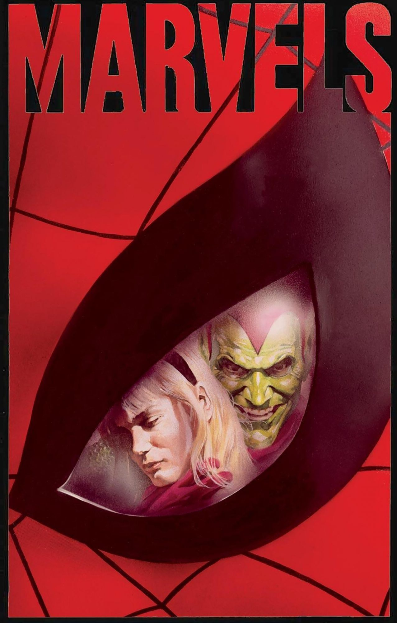 Marvels #4Artist: Alex Ross, 1994