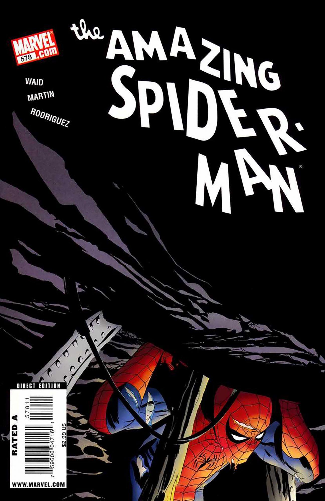 Amazing Spider-Man #578Artist: Marcos Martin, 2009