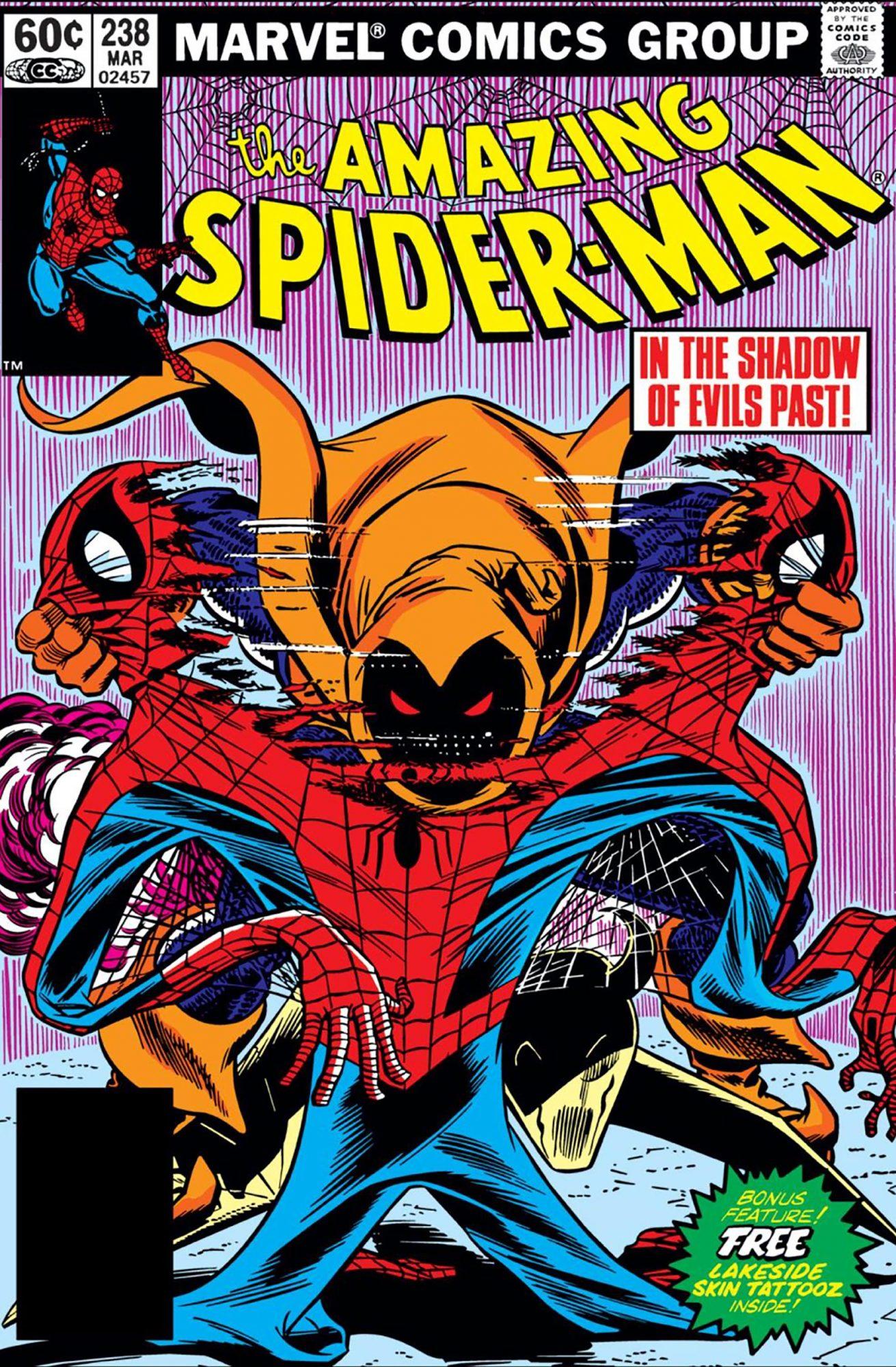 Amazing Spider-Man #238Artist: John Romita Jr., 1983