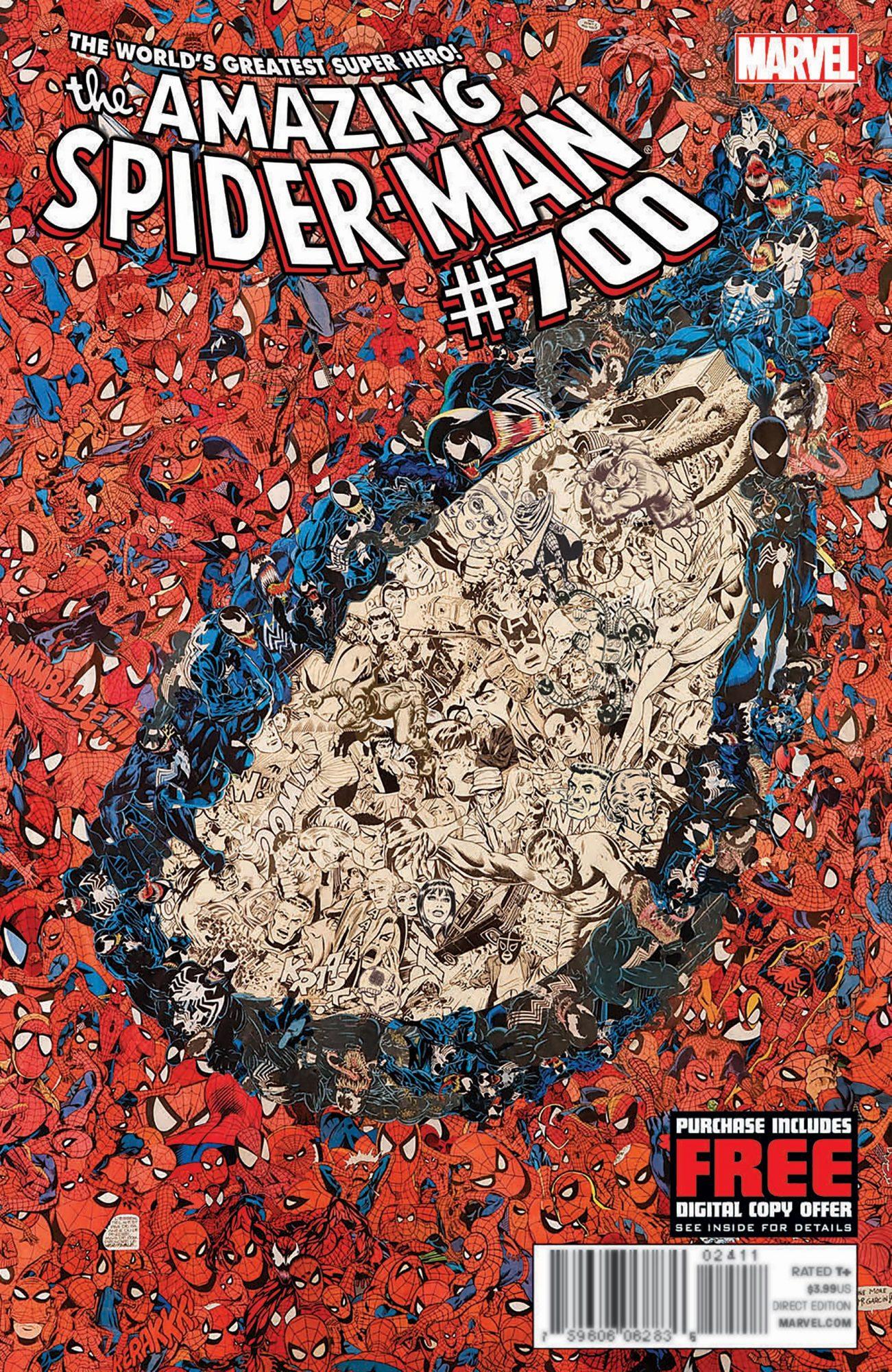 Amazing Spider-Man #700Artist: Pacal Garcin, 2013
