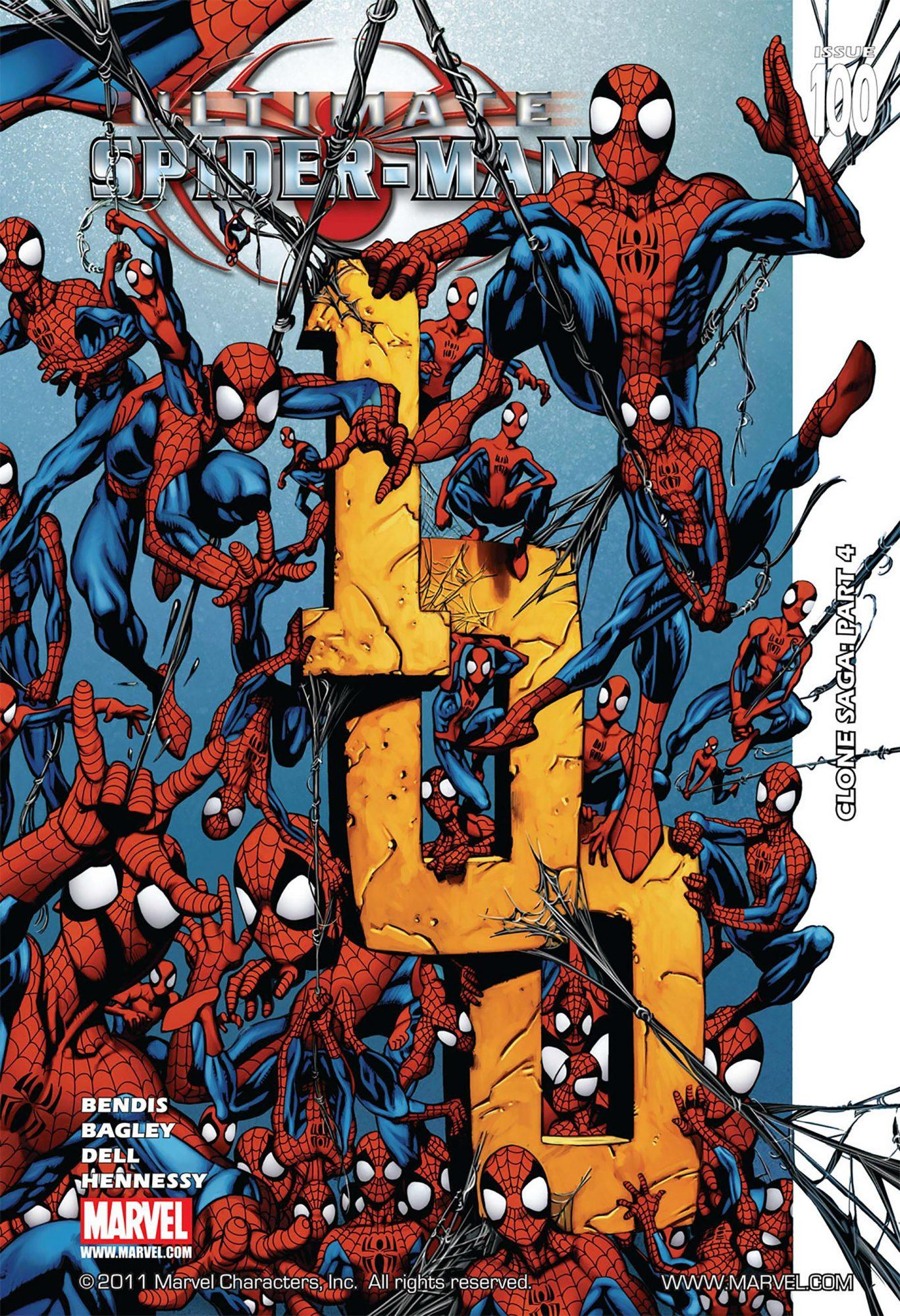 Ultimate Spider-Man #100Artist: Mark Bagley, 2006