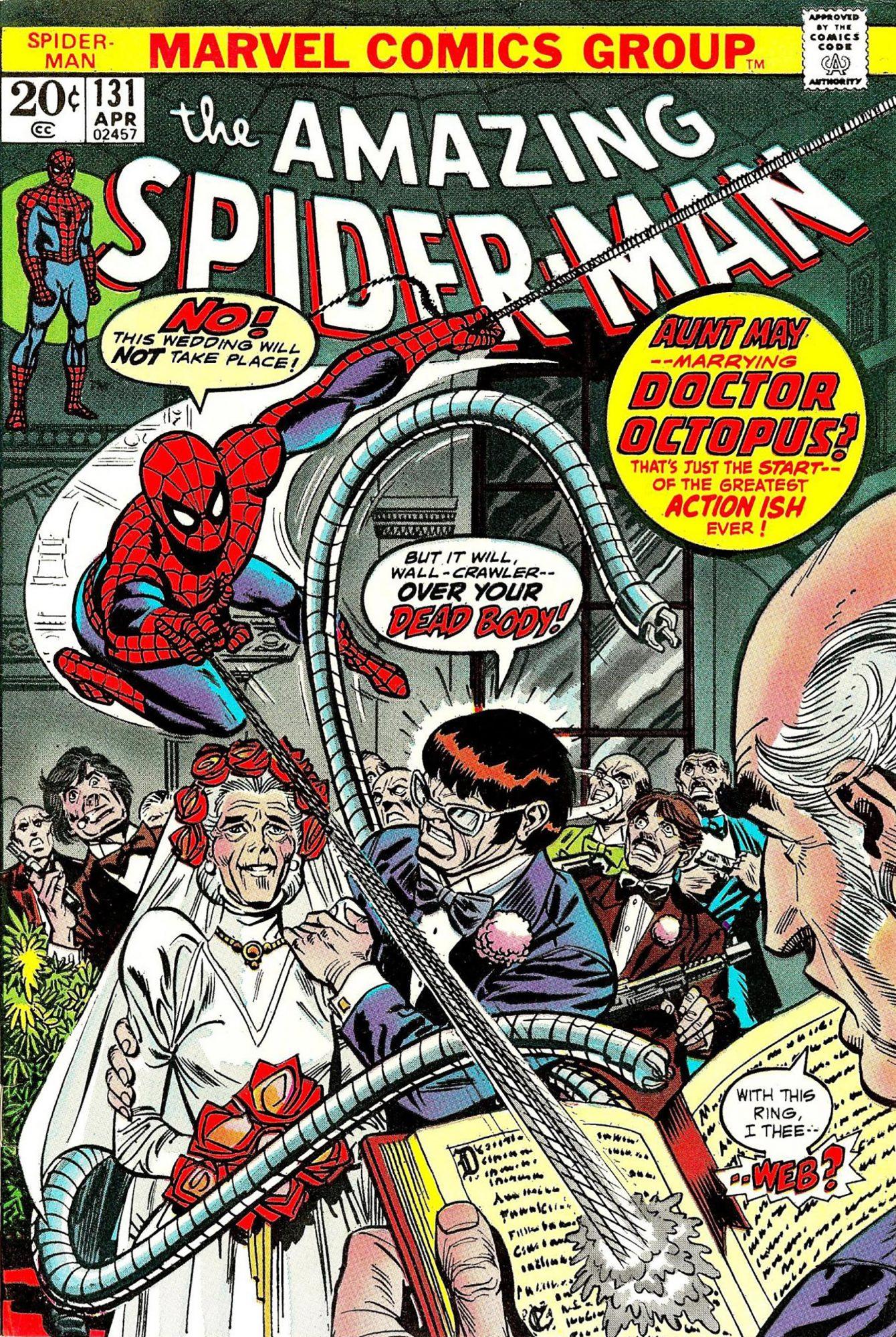 Amazing Spider-Man #131Artist: Gil Kane, 1974