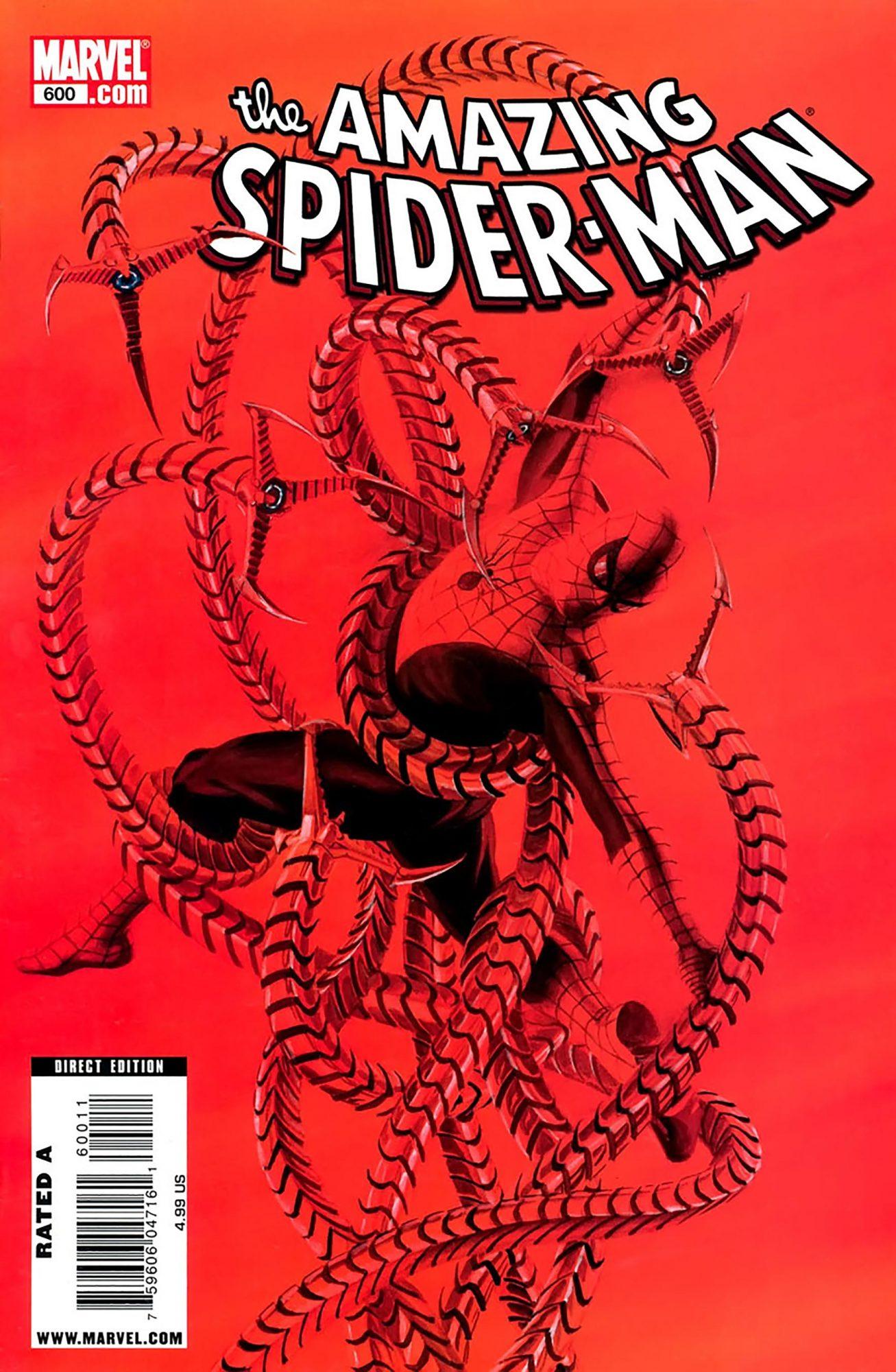 Amazing Spider-Man #600Artist: Alex Ross, 2009