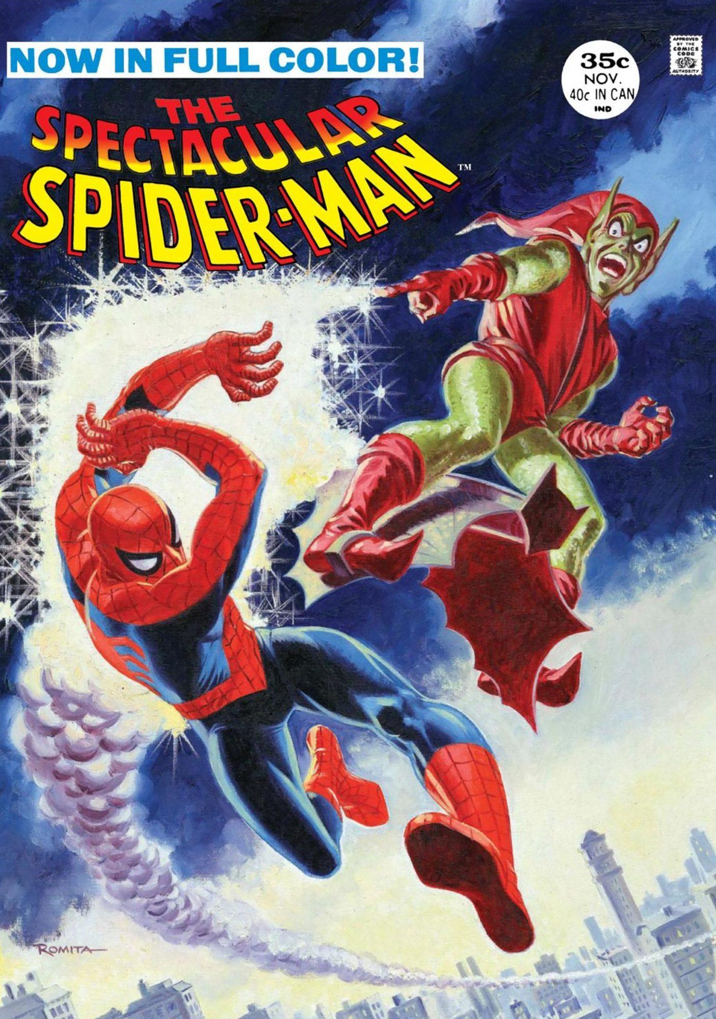 Spectacular Spider-Man #2Artist: John Romita Sr., 1968