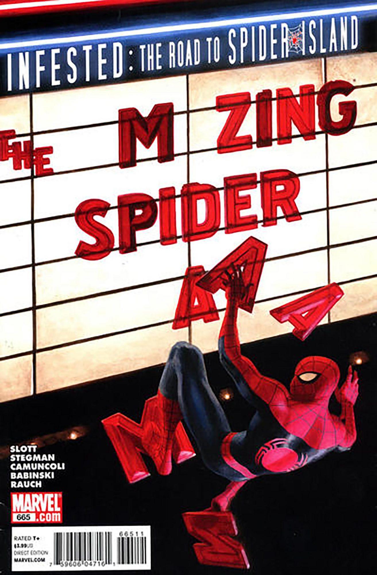 Amazing Spider-Man #665Artist: Paolo Rivera, 2011