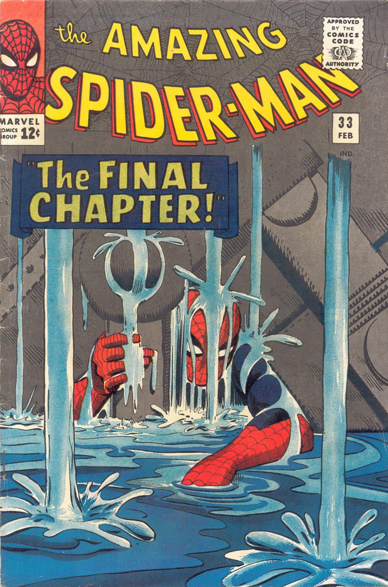 Amazing Spider-Man #33Artist: Steve Ditko, 1966