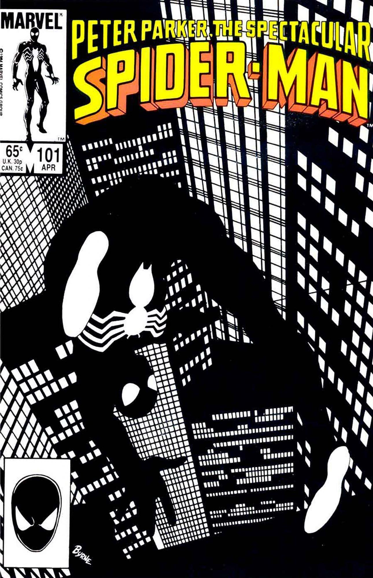 Spectacular Spider-Man #101John Byrne, 1985
