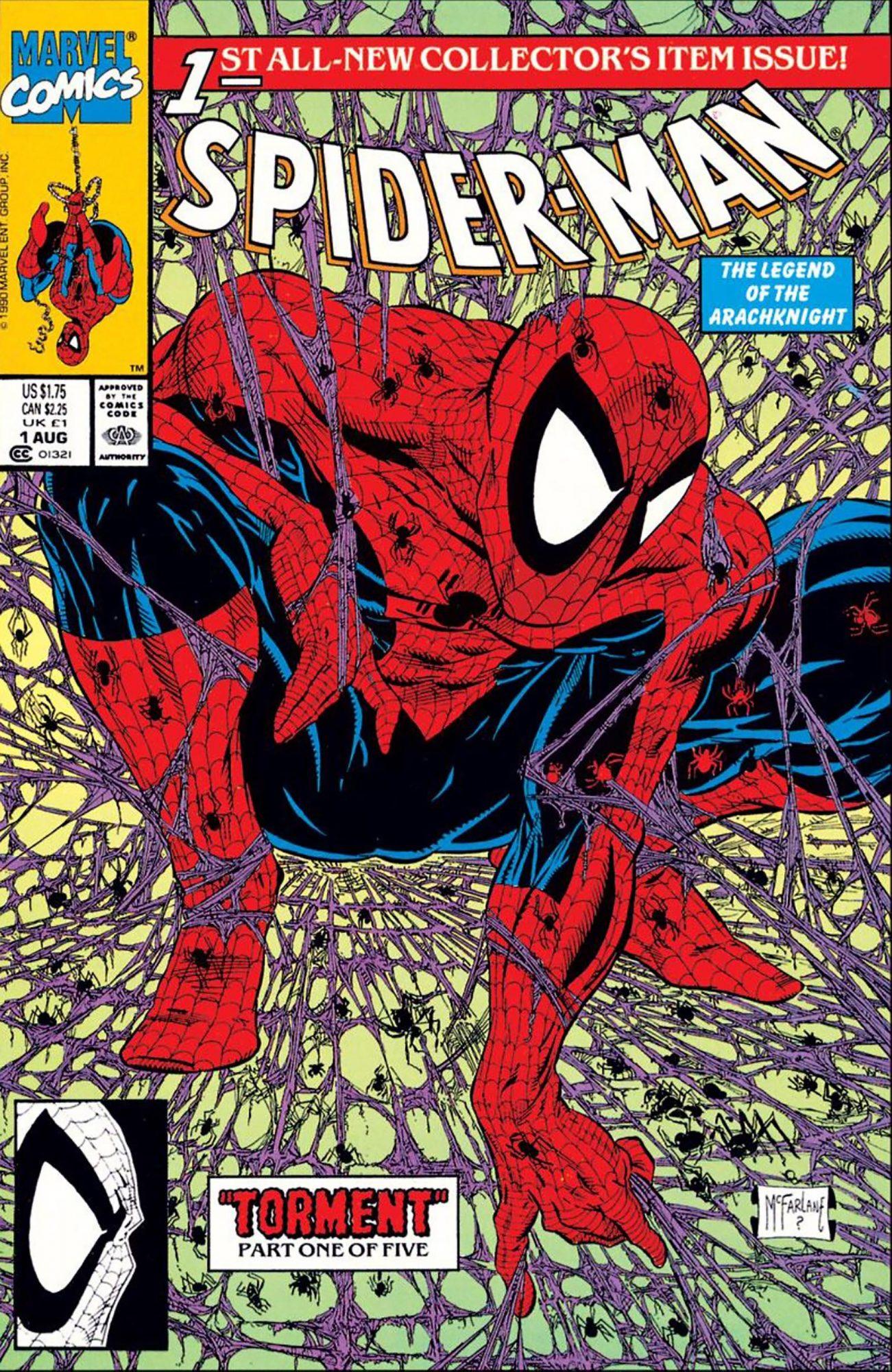 Spider-Man #1Artist: Todd McFarlane, 1990