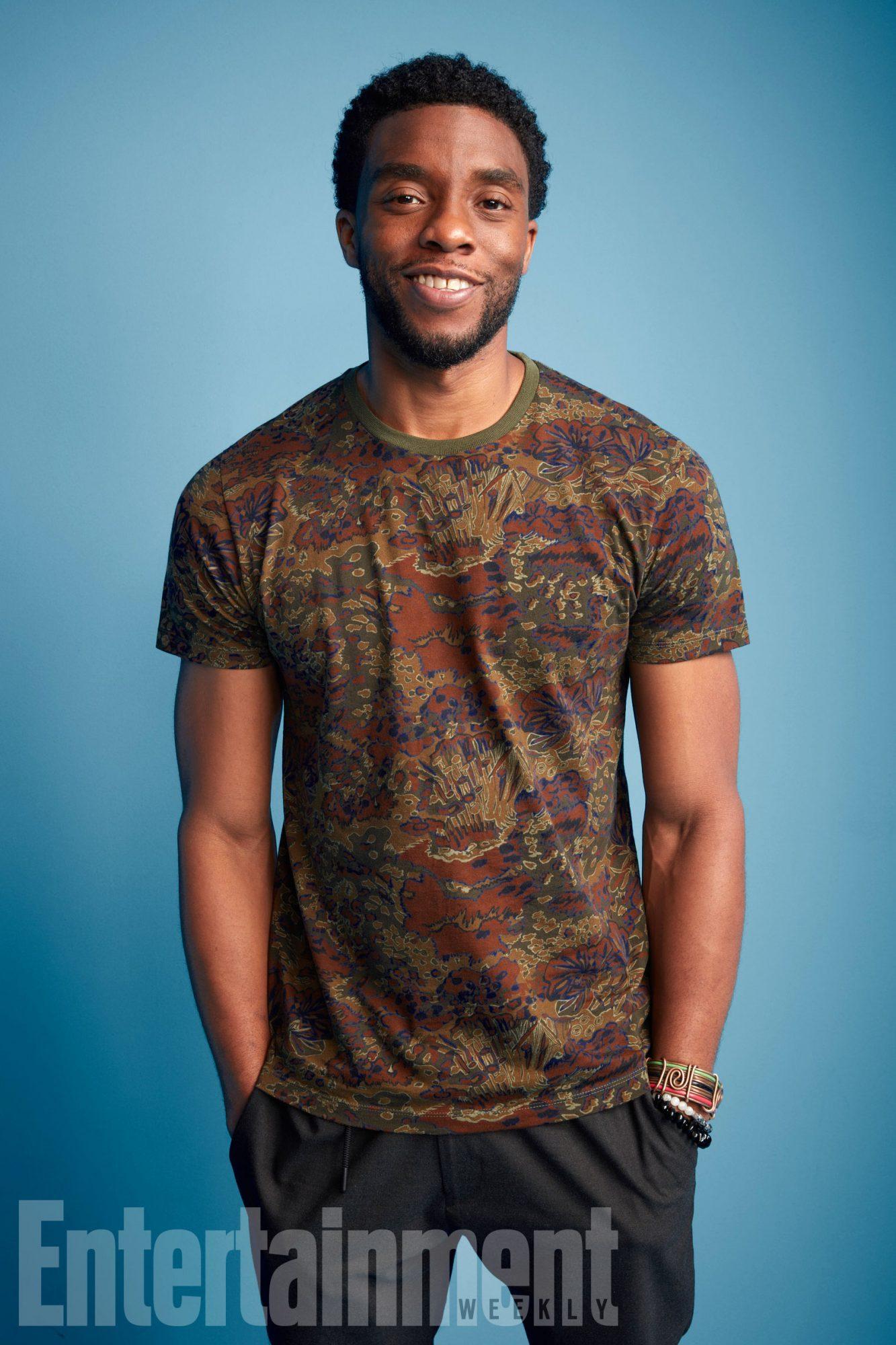 Black Panther Cast Photos Comic Con Portraits Ew Com