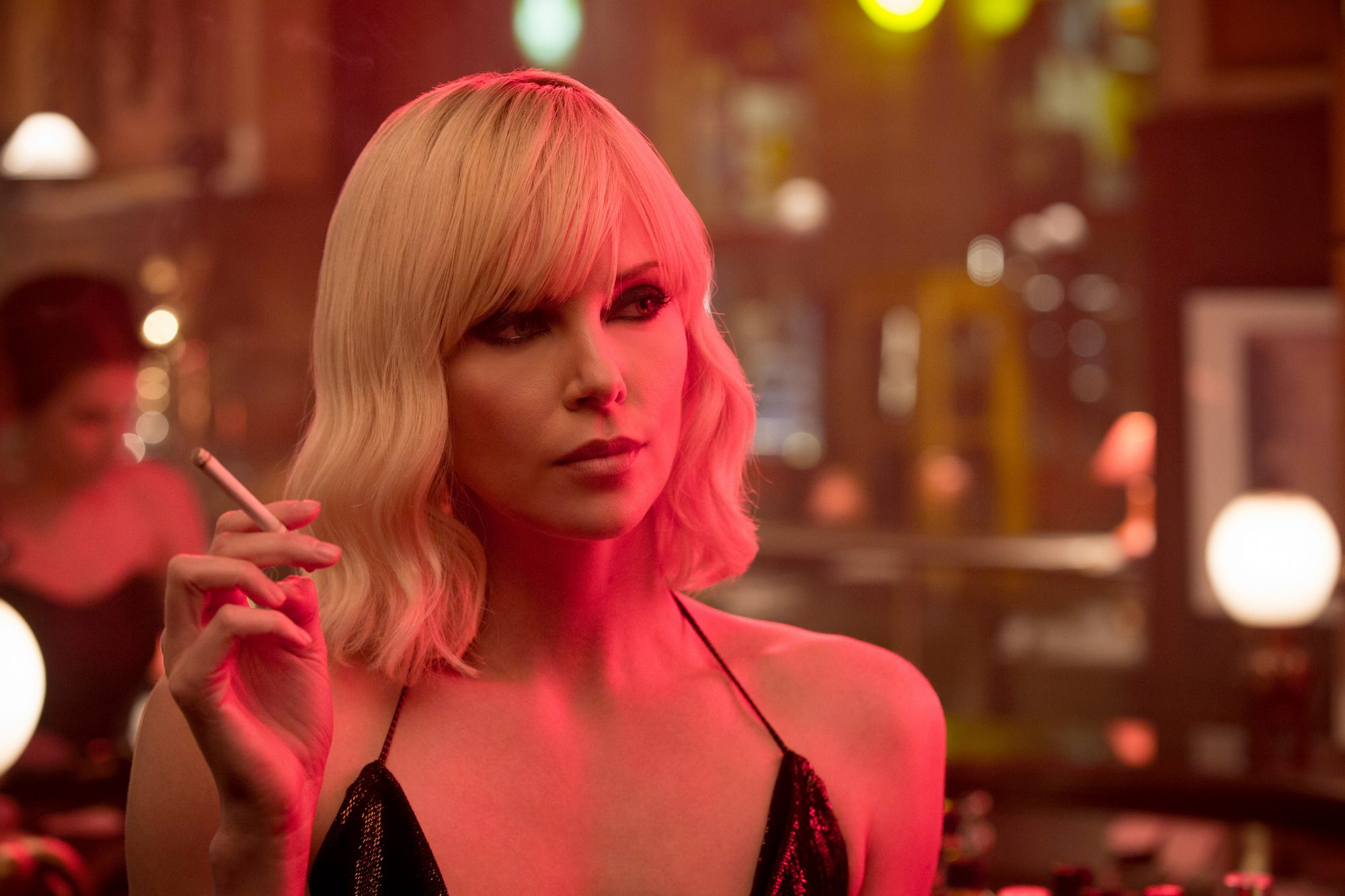 Charlize Theron (Atomic Blonde, out July 28)