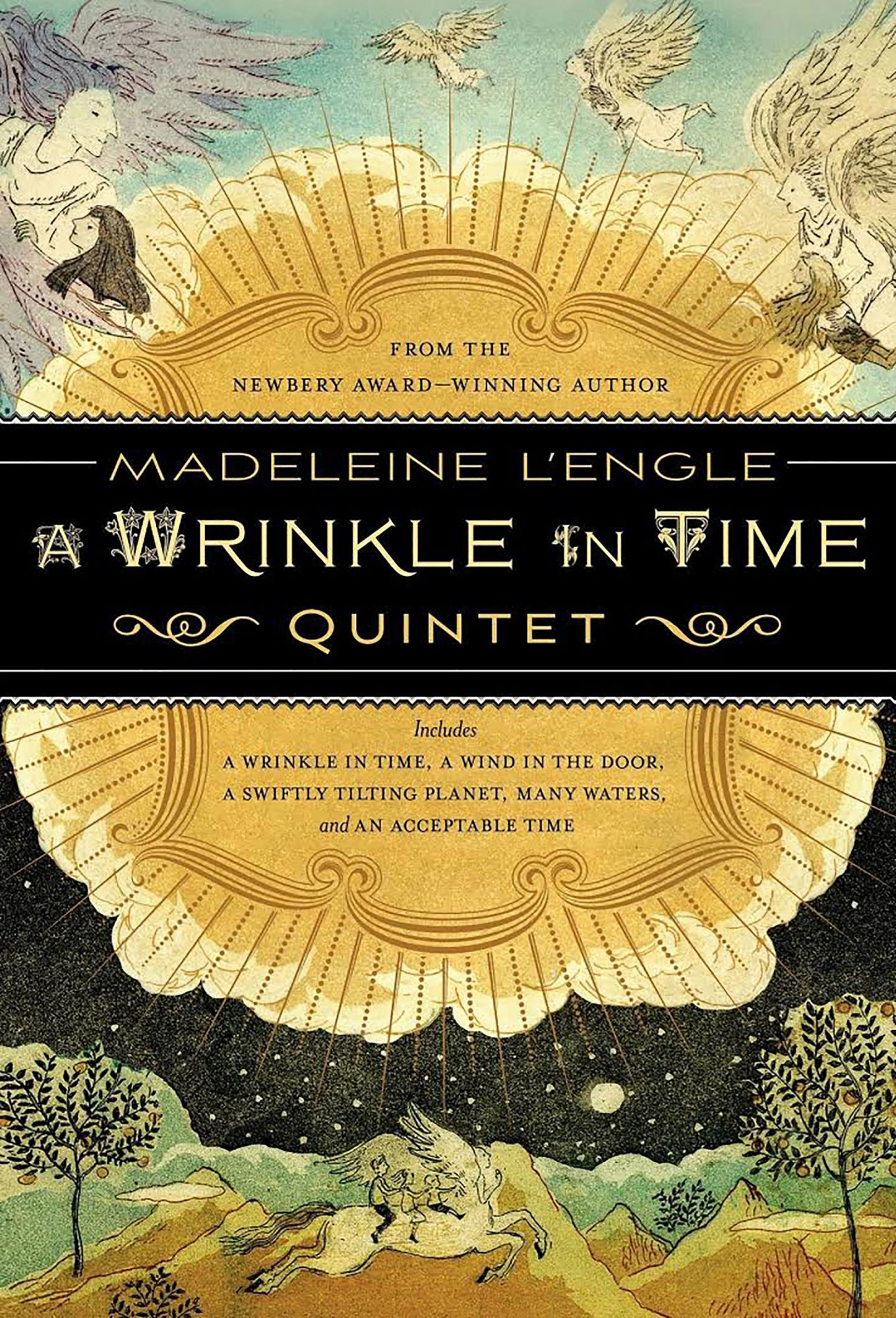 A Wrinkle in Time by Madeleine L'Engle CR: Farrar Straus Giroux