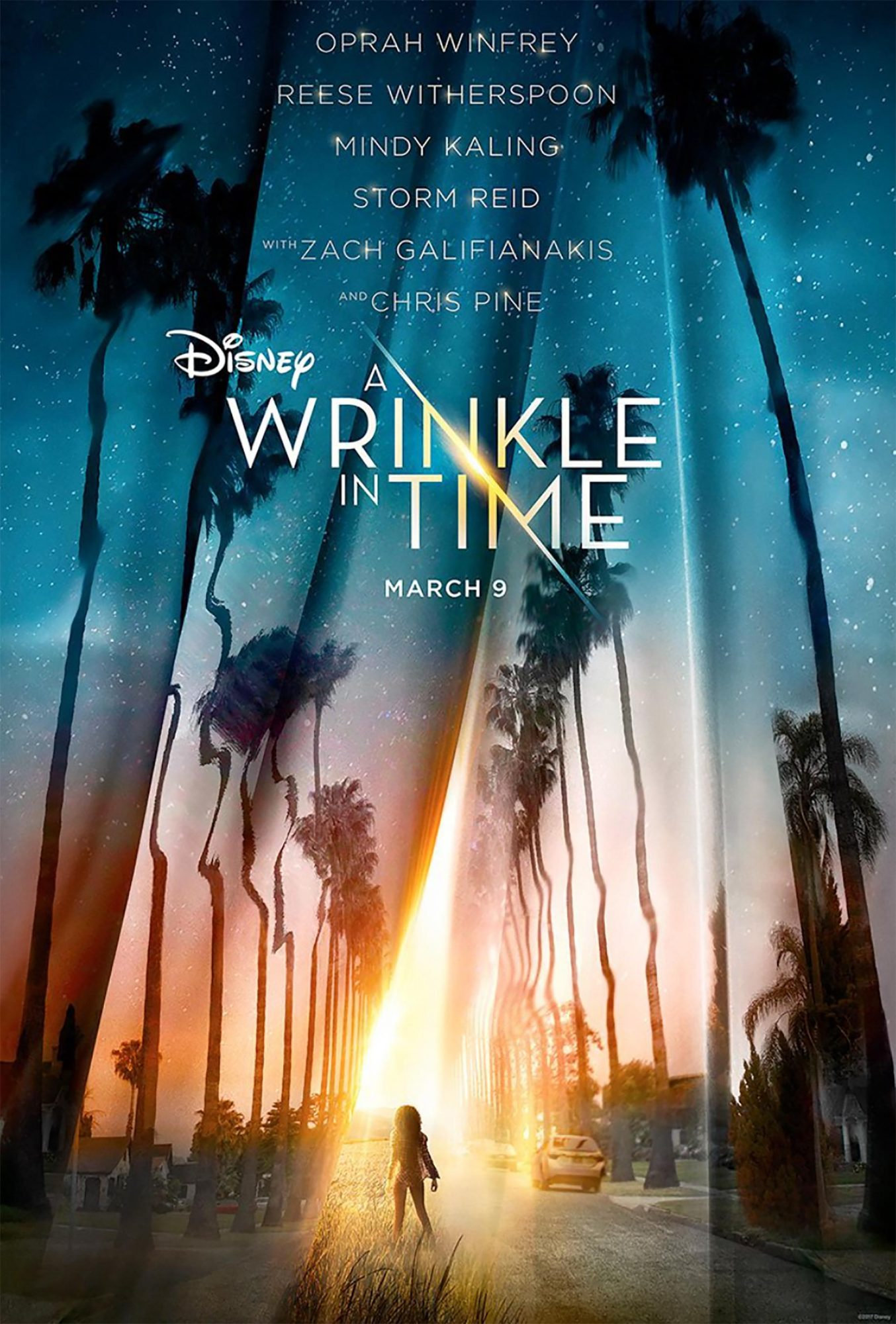 A Wrinkle in Time D23 Poster CR: Disney