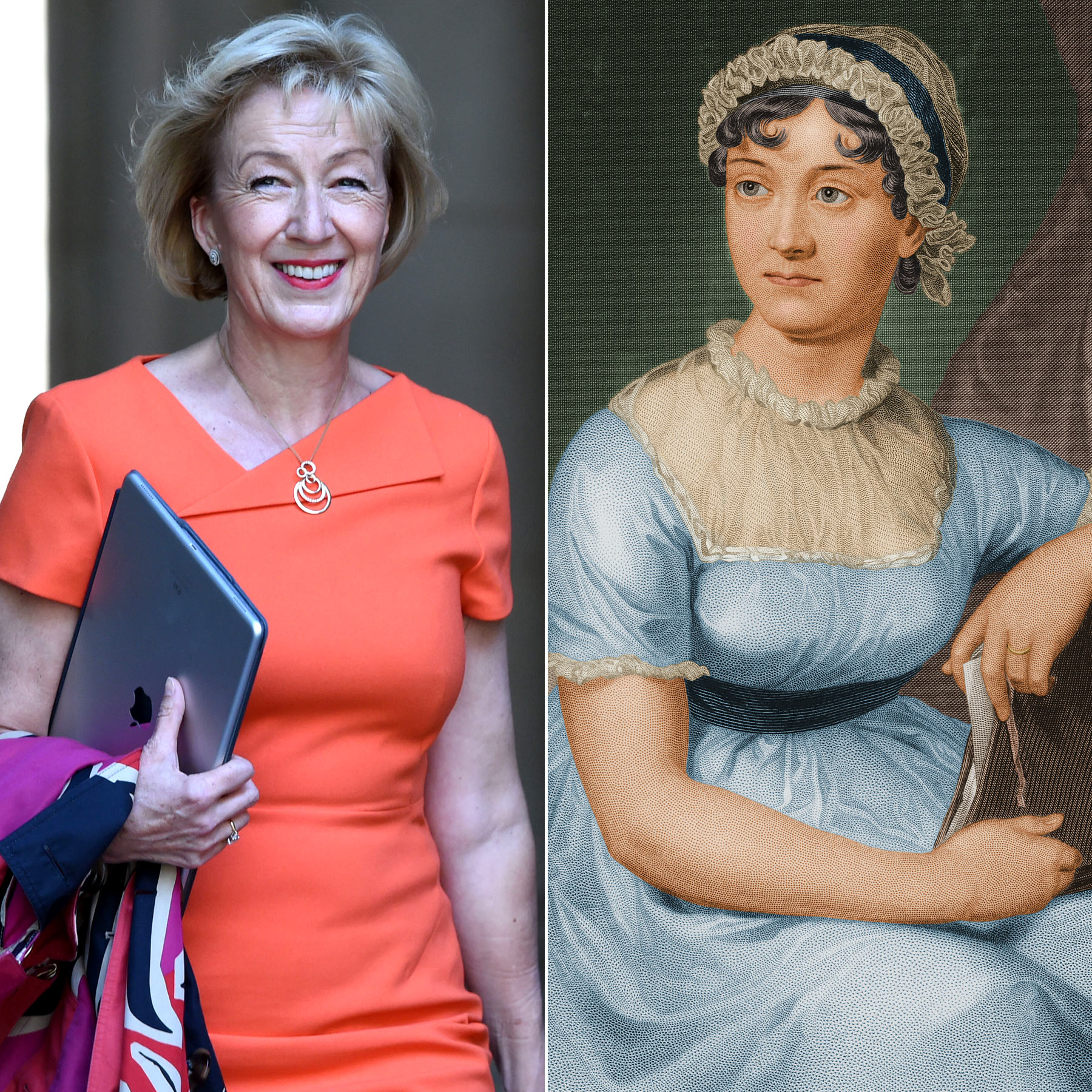 Andrea Leadsom and jane austen