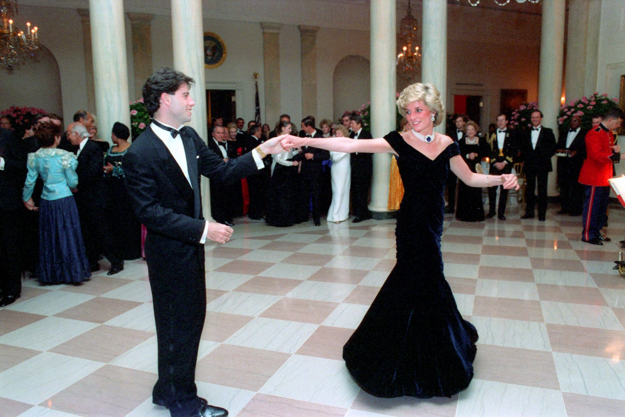 Formal Dinner for Prince Charles and Princess Diana