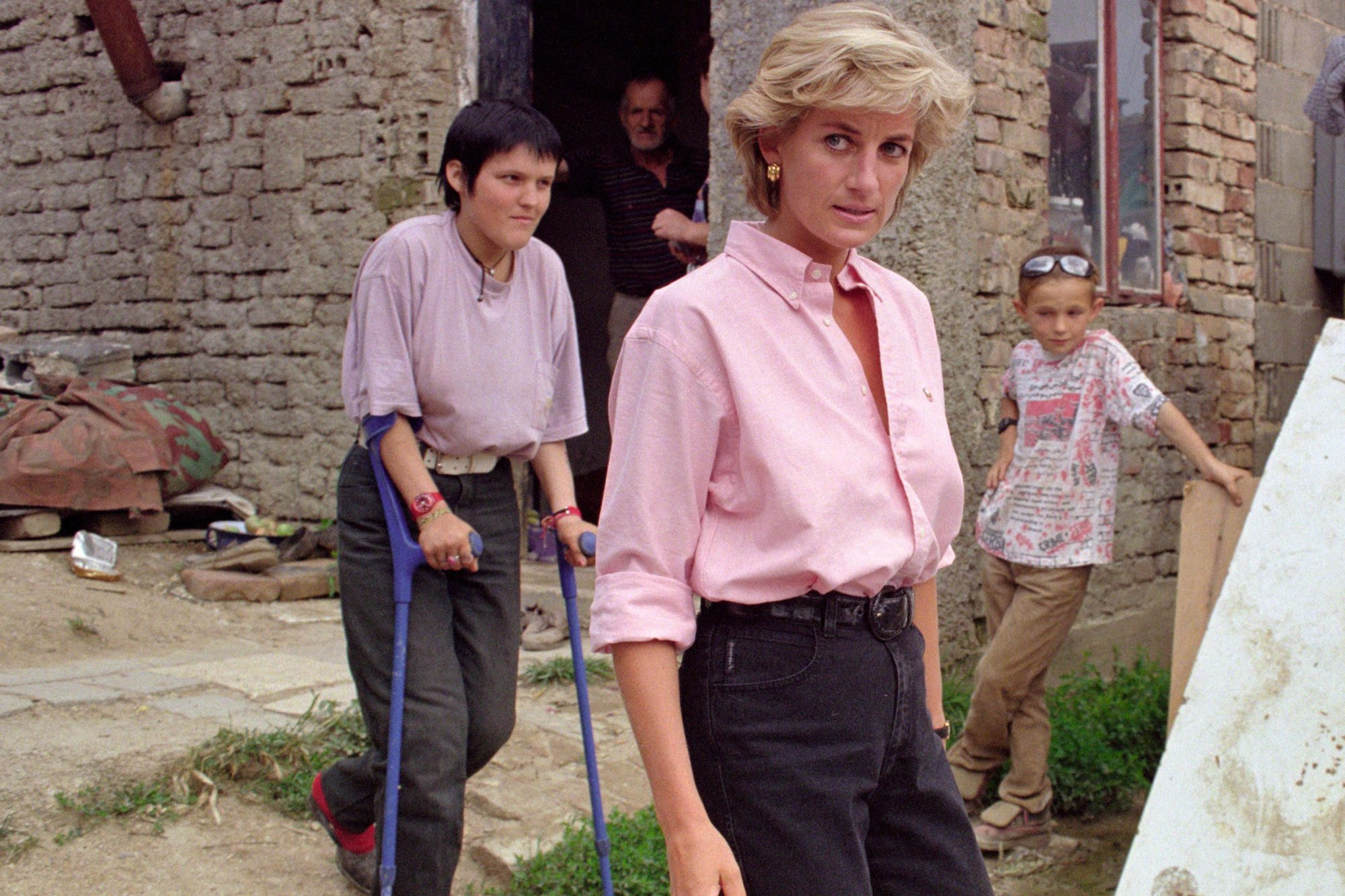 LADY DIANA IN BOSNIA 10 ANNIVERSARY