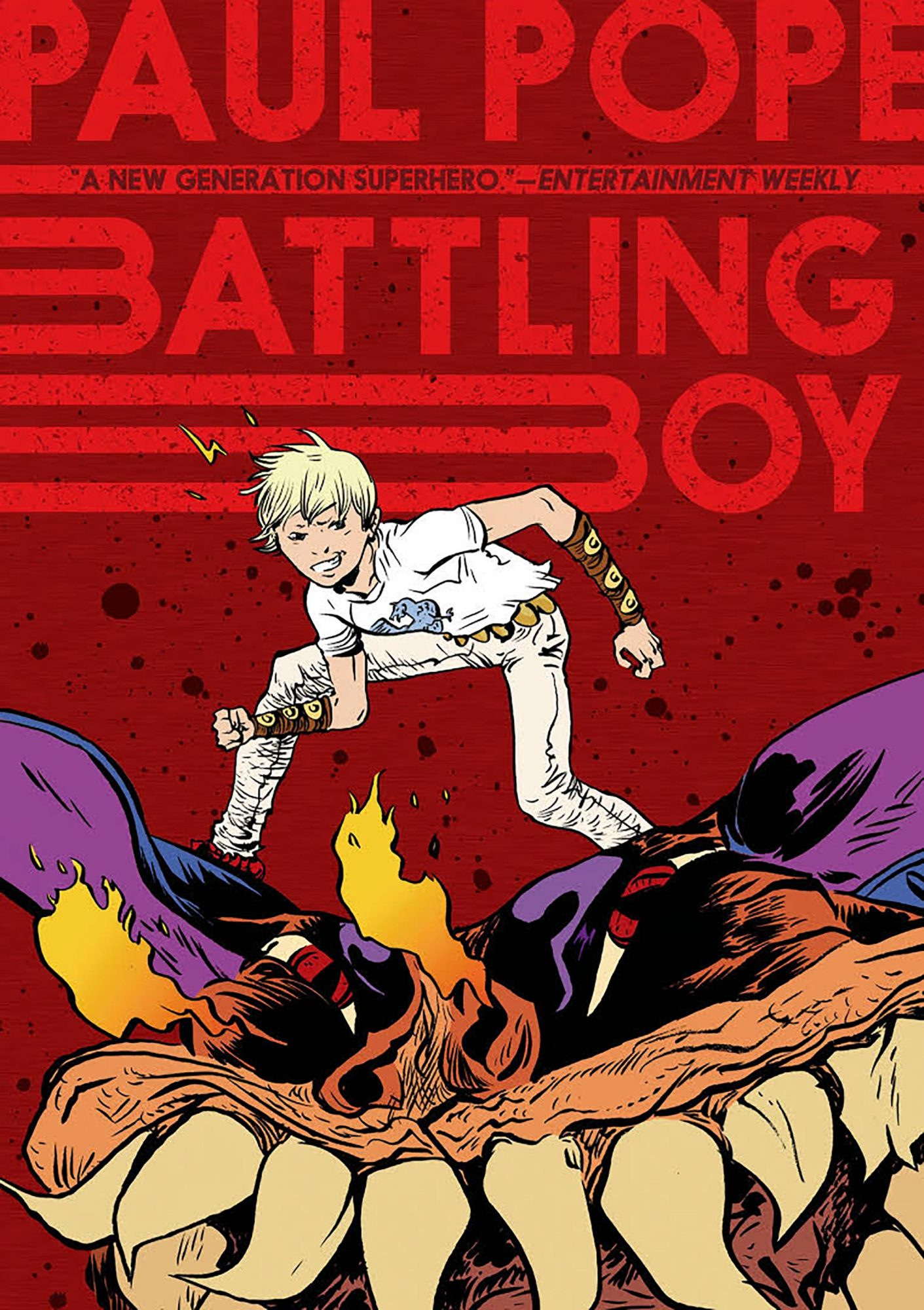 Battling Boy by Paul Pope CR: First Second