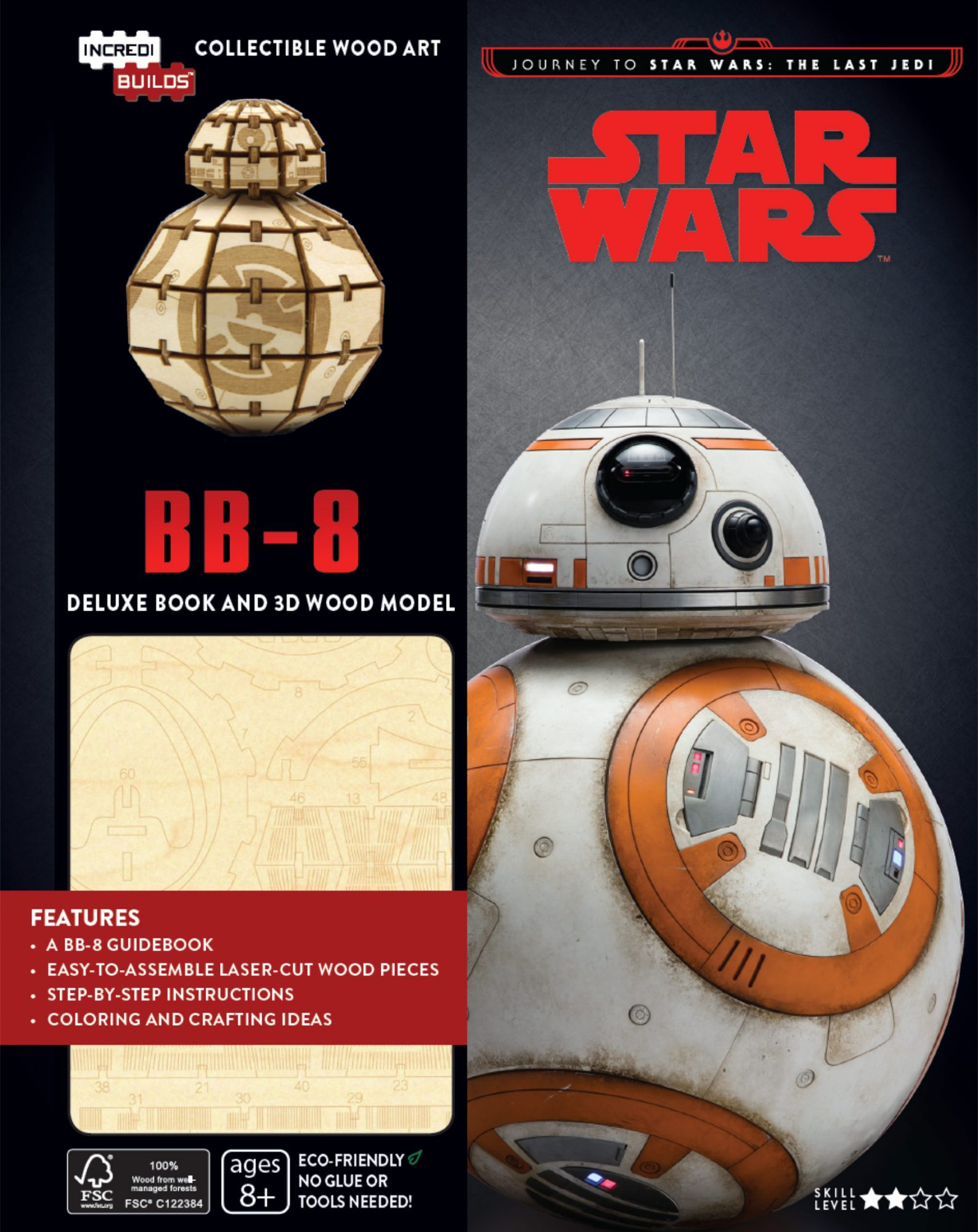 The Last Jedi - BB-8 IncrediBuild, by Dan Wallace