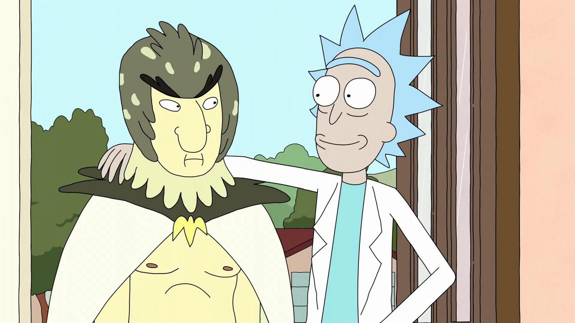 Ricky and Morty - Bird Person (Season 1, Episode 11; Season 2, Episode 10)