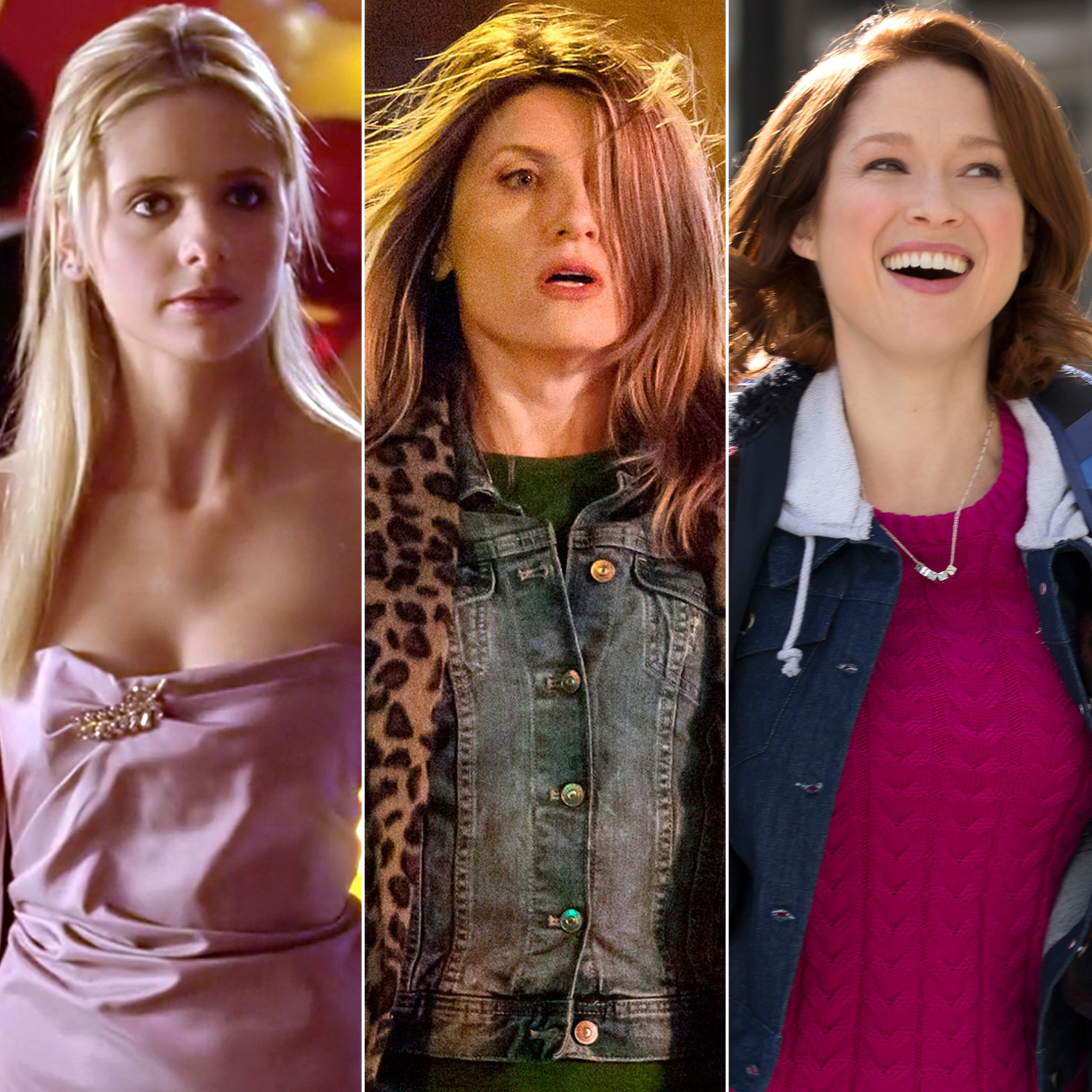 Buffy, Catastrophe and Kimmy Schmidt (split)