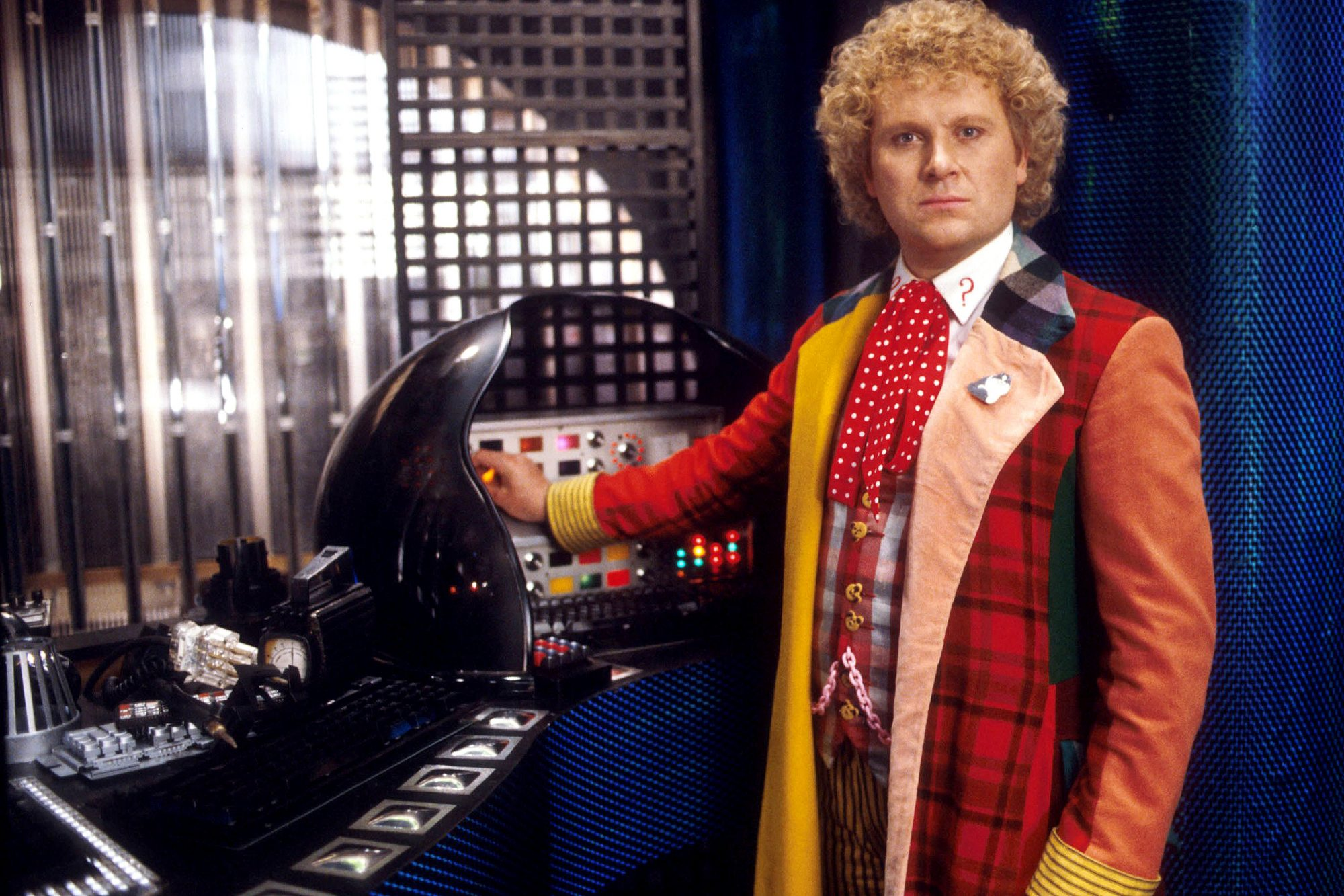 DOCTOR WHO, Colin Baker, (ca. early-mid 1980s), 1963-89. photo: ©BBC / courtesy: Everett Collection