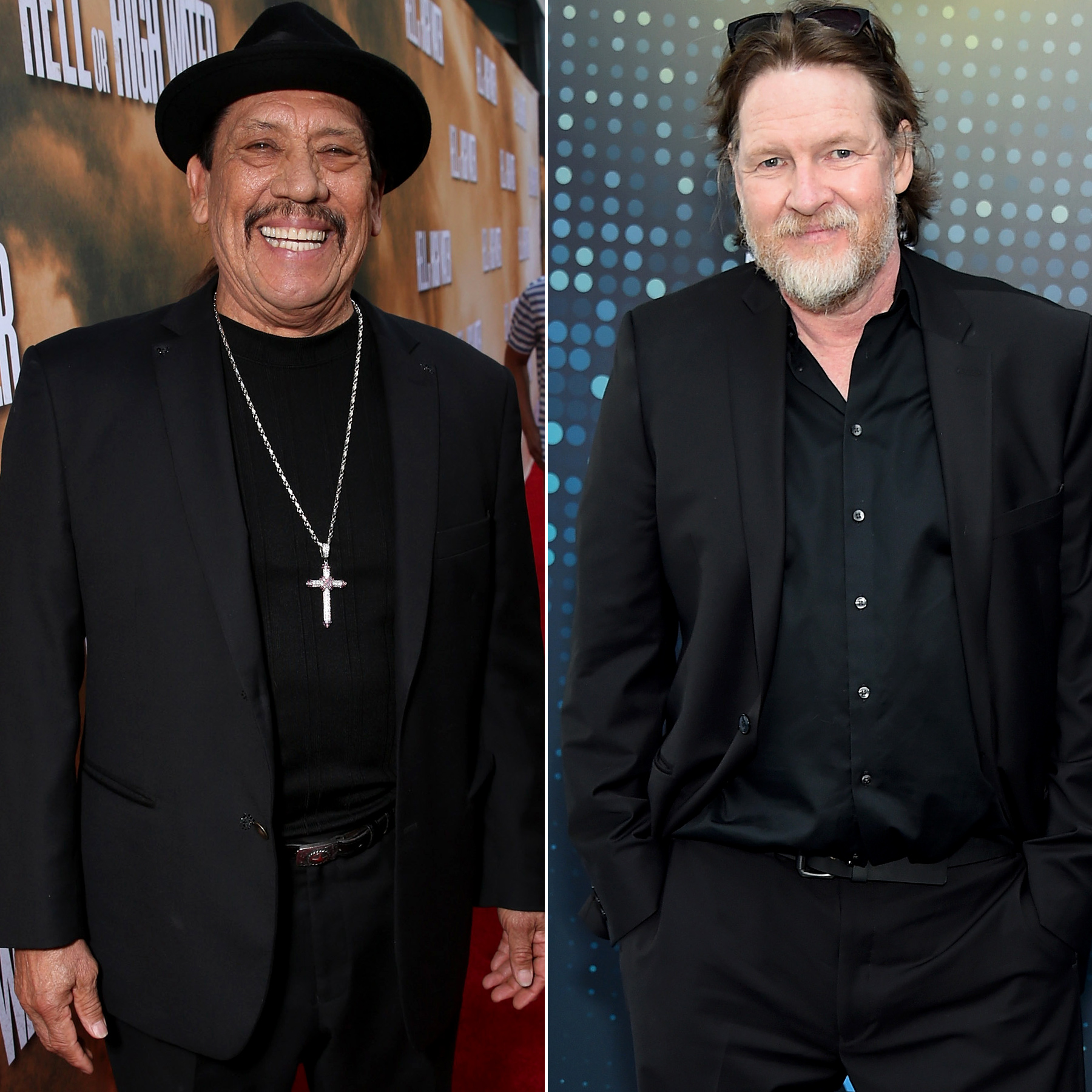 Danny Trejo and Donal Logue