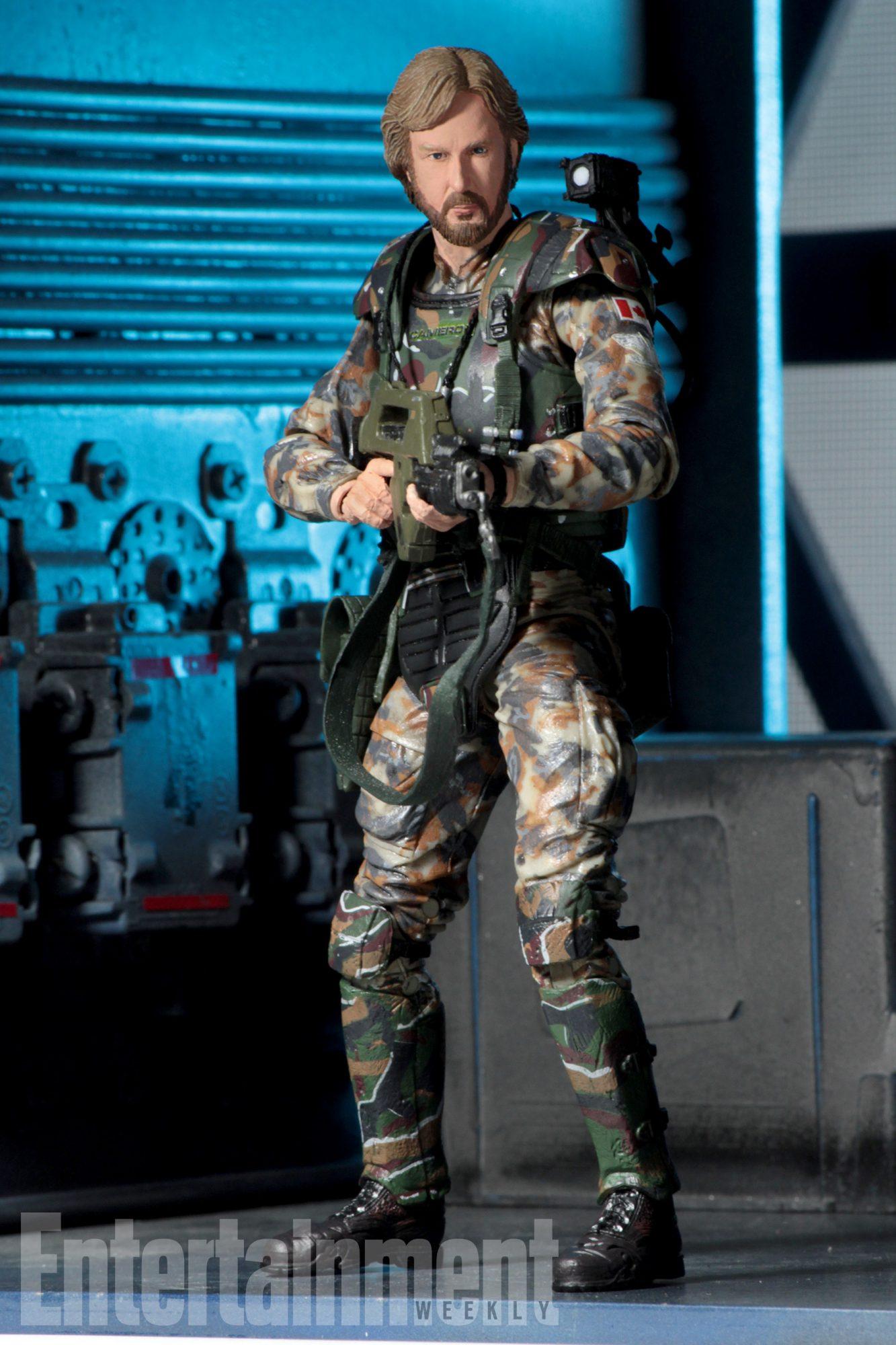 James Cameron action figure