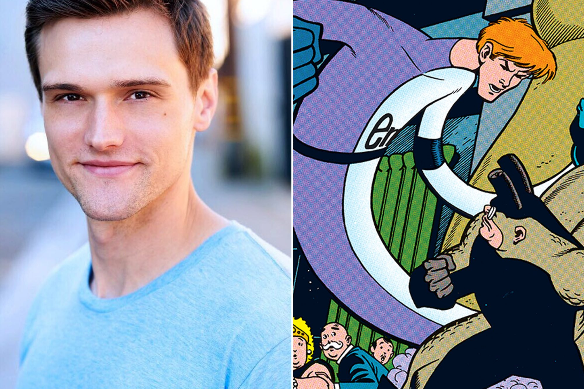 The Flash Casts Hartley Sawyer As The Elongated Man Ew Com