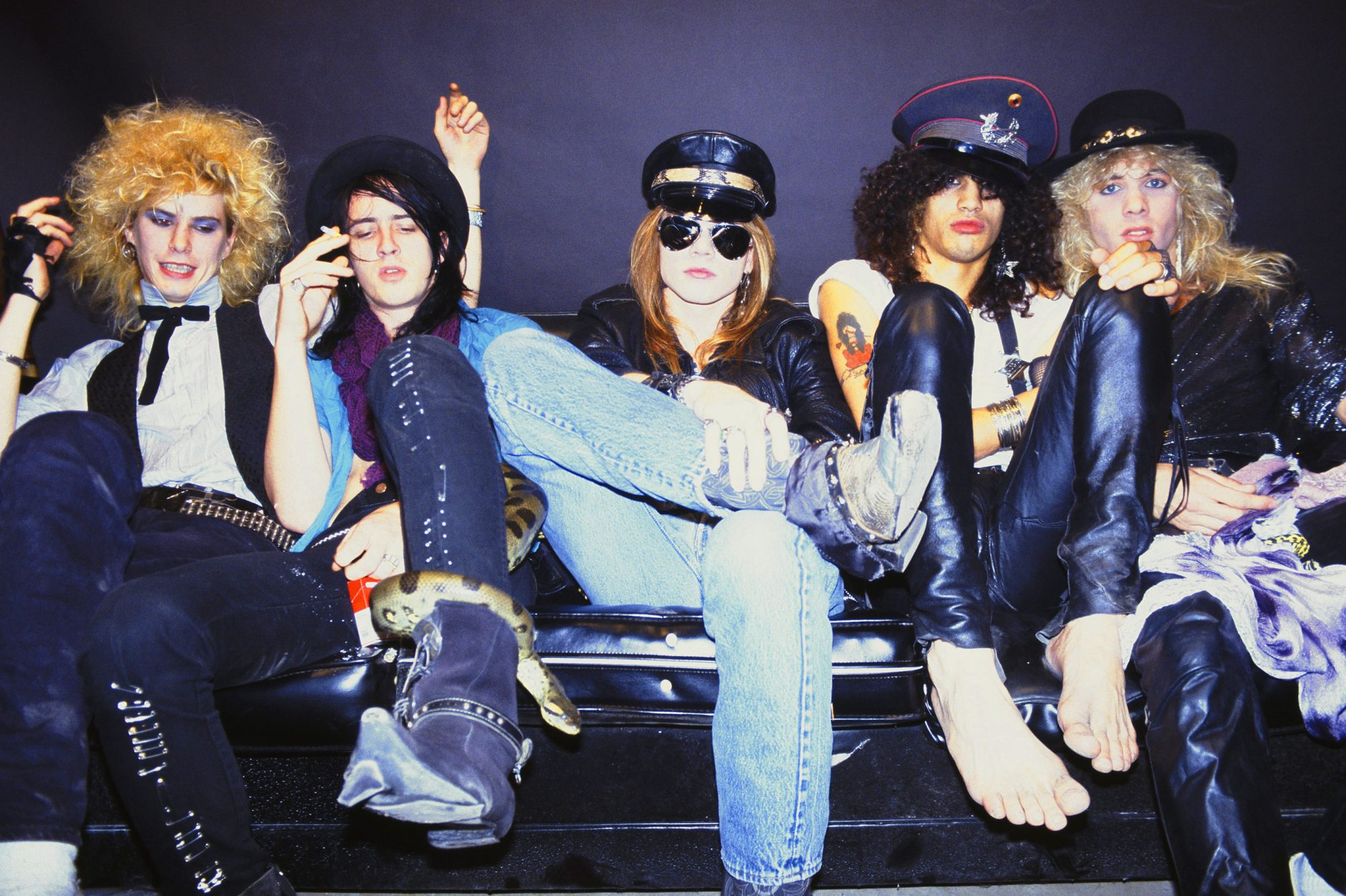 Guns n' Roses Group Portrait