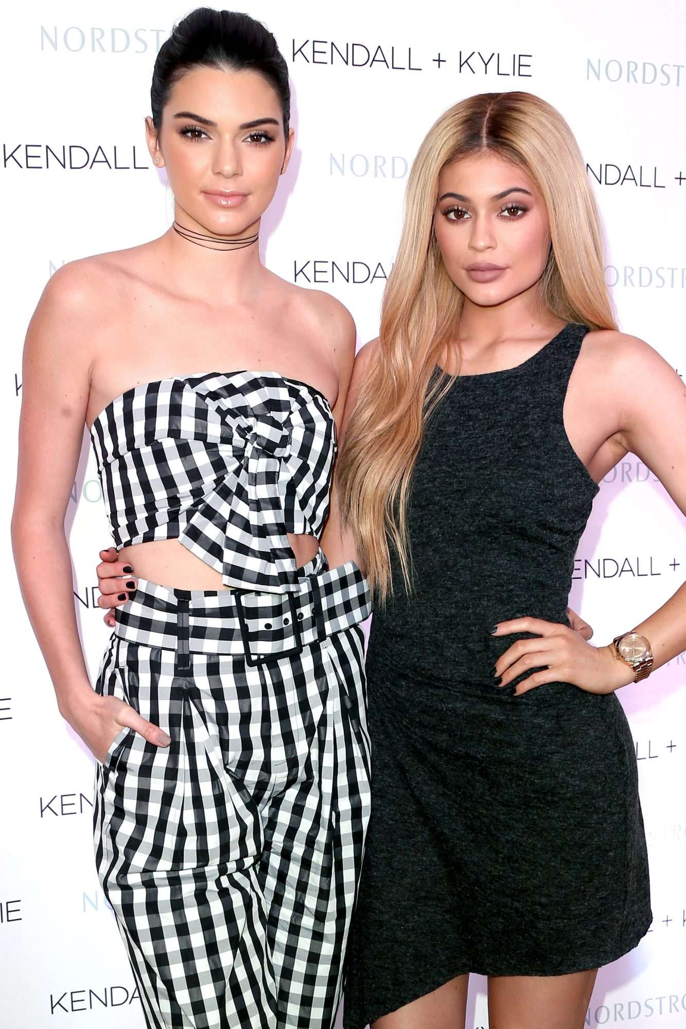 Kendall And Kylie Jenner Celebrate Kendall + Kylie Collection At Nordstrom Private Luncheon