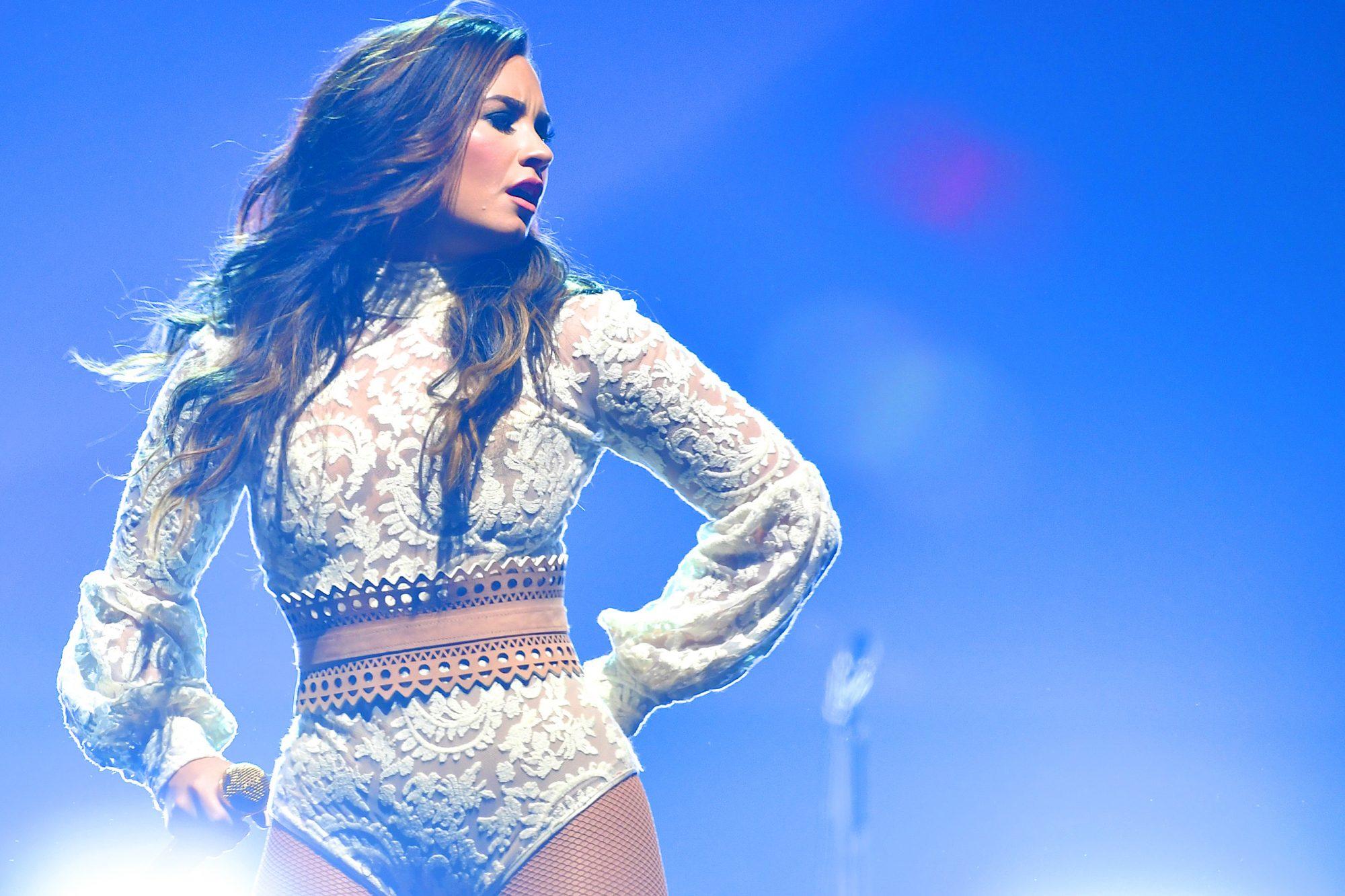 Demi Lovato & Nick Jonas In Concert - Nashville, TN