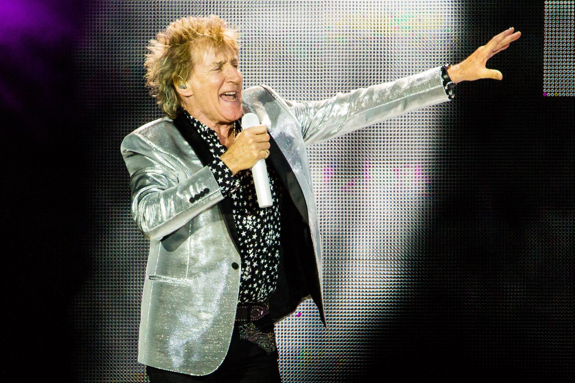 Rod Stewart Performs At The O2 Arena
