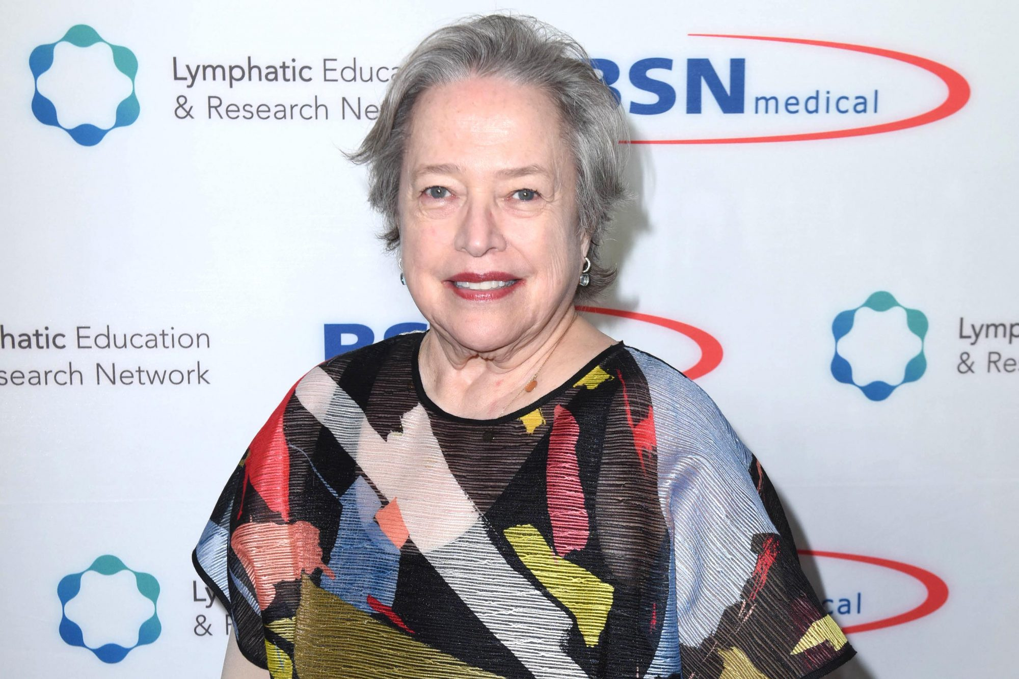Academy Award Winner and LE&RN Spokesperson Kathy Bates Hosts Reception On The Eve Of The Third Annual California Run/Walk to Fight Lymphedema & Lymphatic Diseases