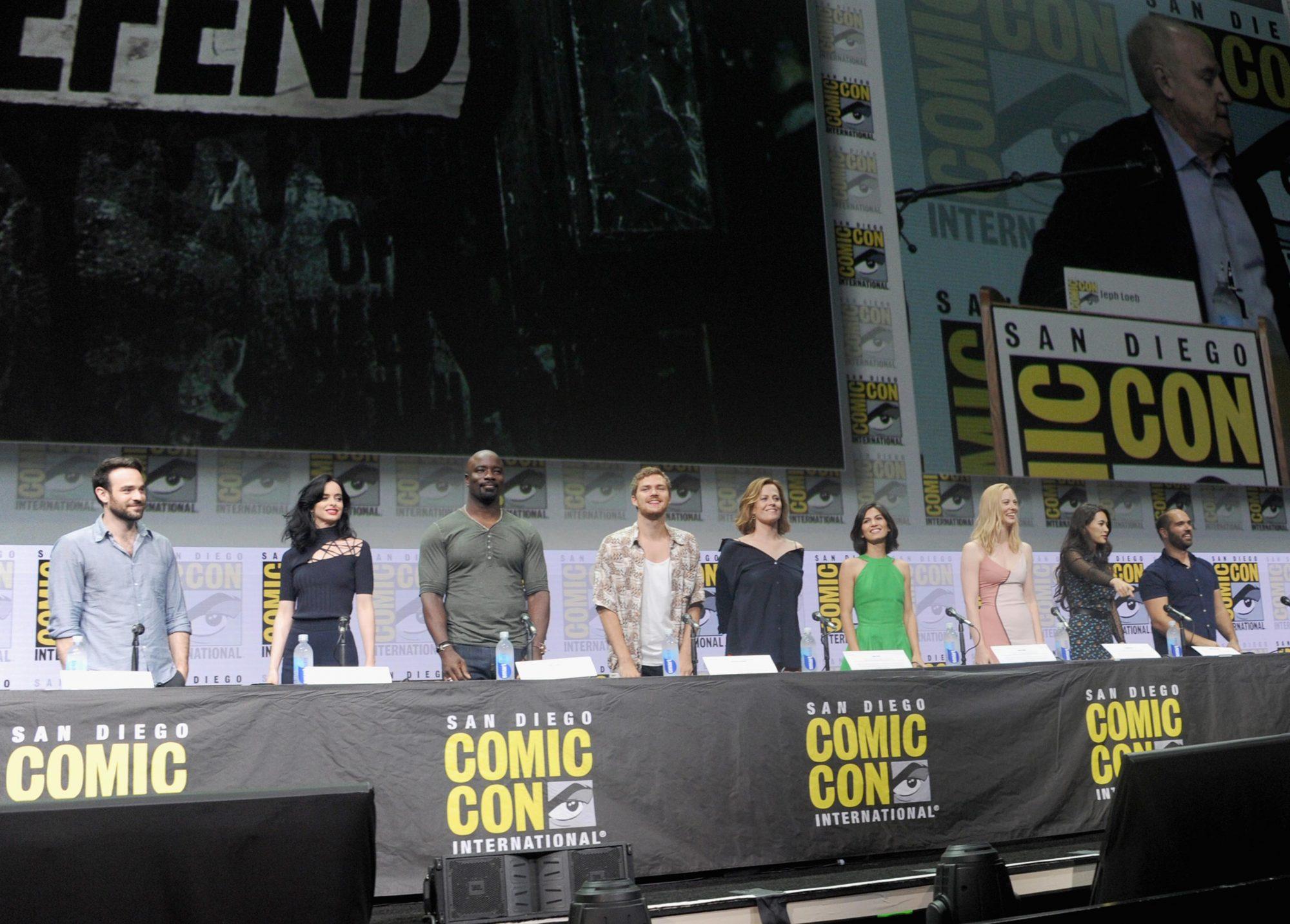 "Comic-Con International 2017 - Netflix's ""The Defenders"" Panel"