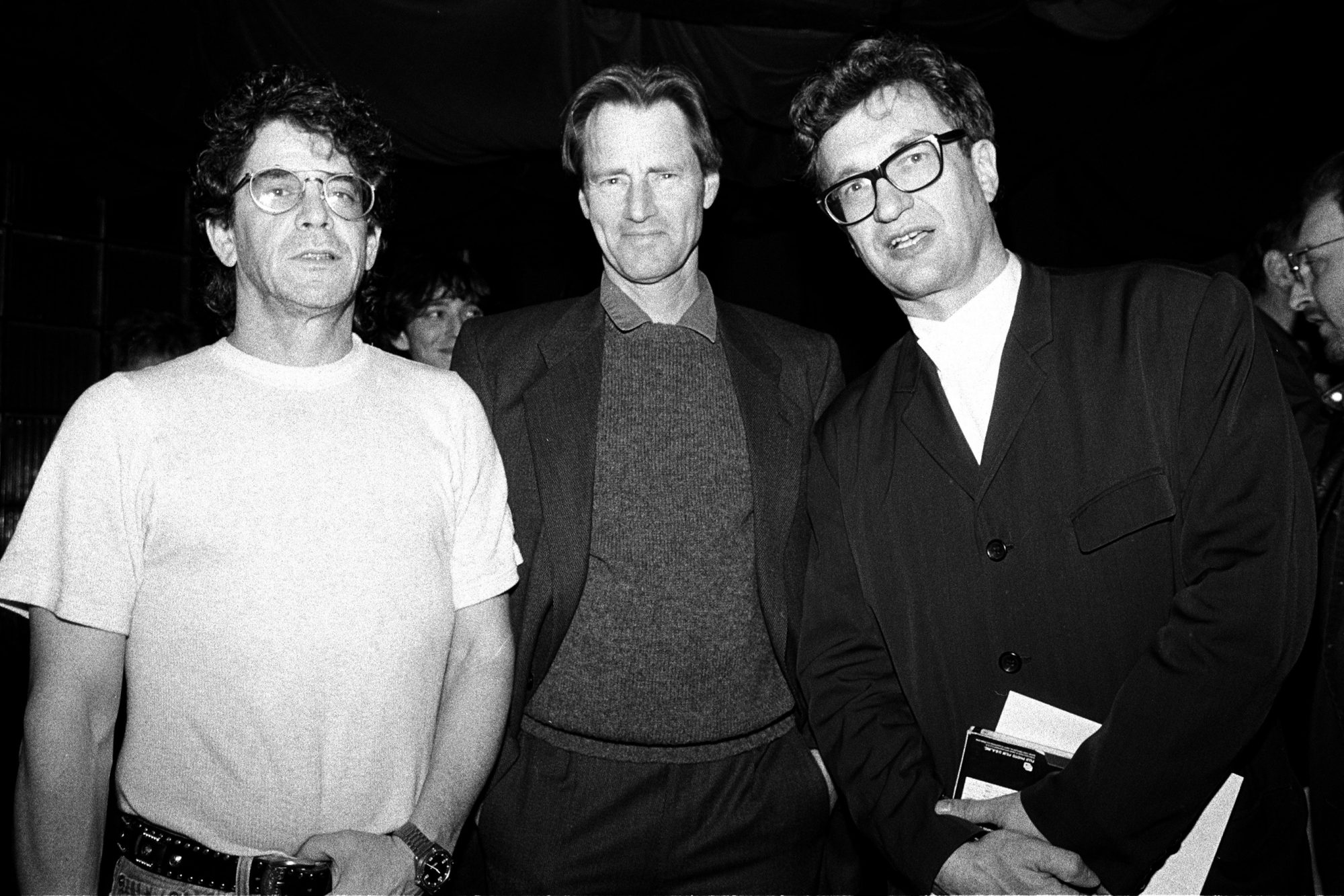Lou Reed, Sam Shepard And Wim Wenders