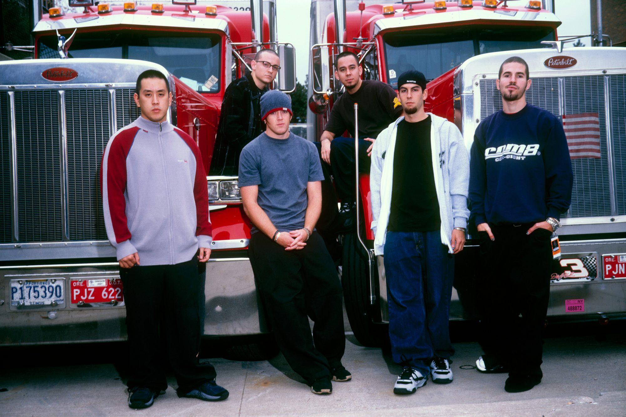 Group Portrait Of Linkin Park