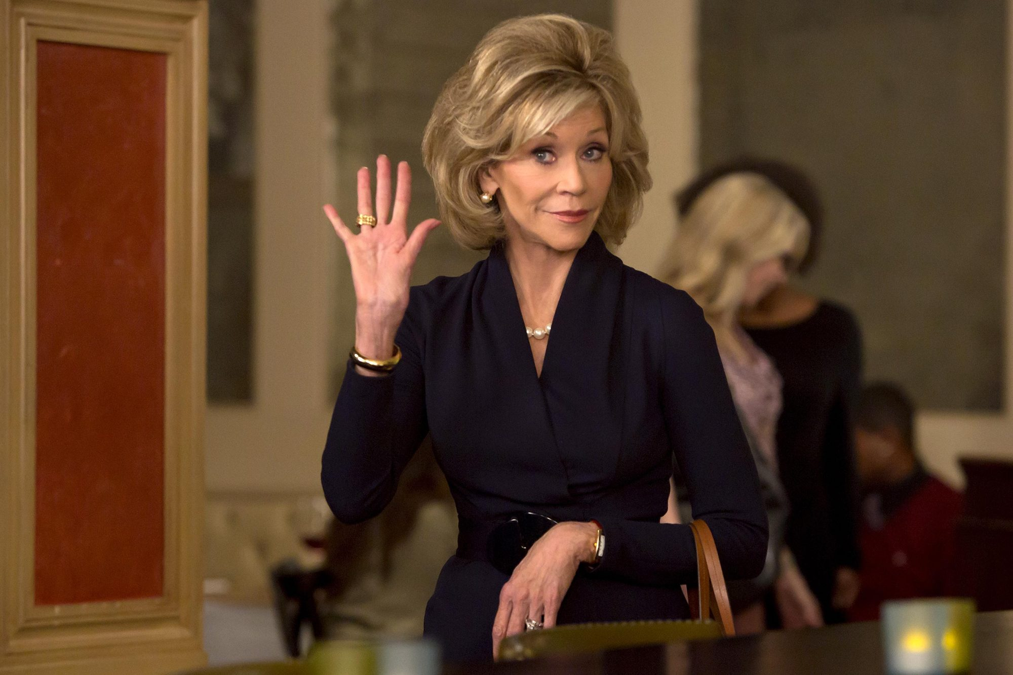 Grace and Frankie Episode 1012015Pictured: Jane Fonda