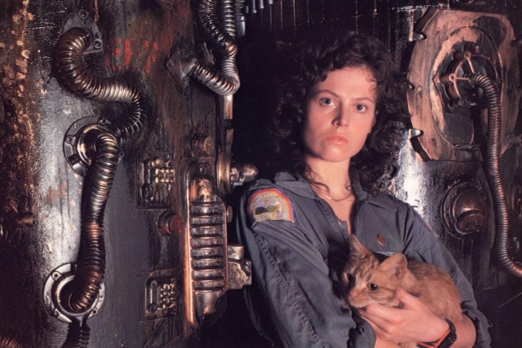 Sigourney Weaver talks 'Alien' legacy, sci-fi heroines | EW.com